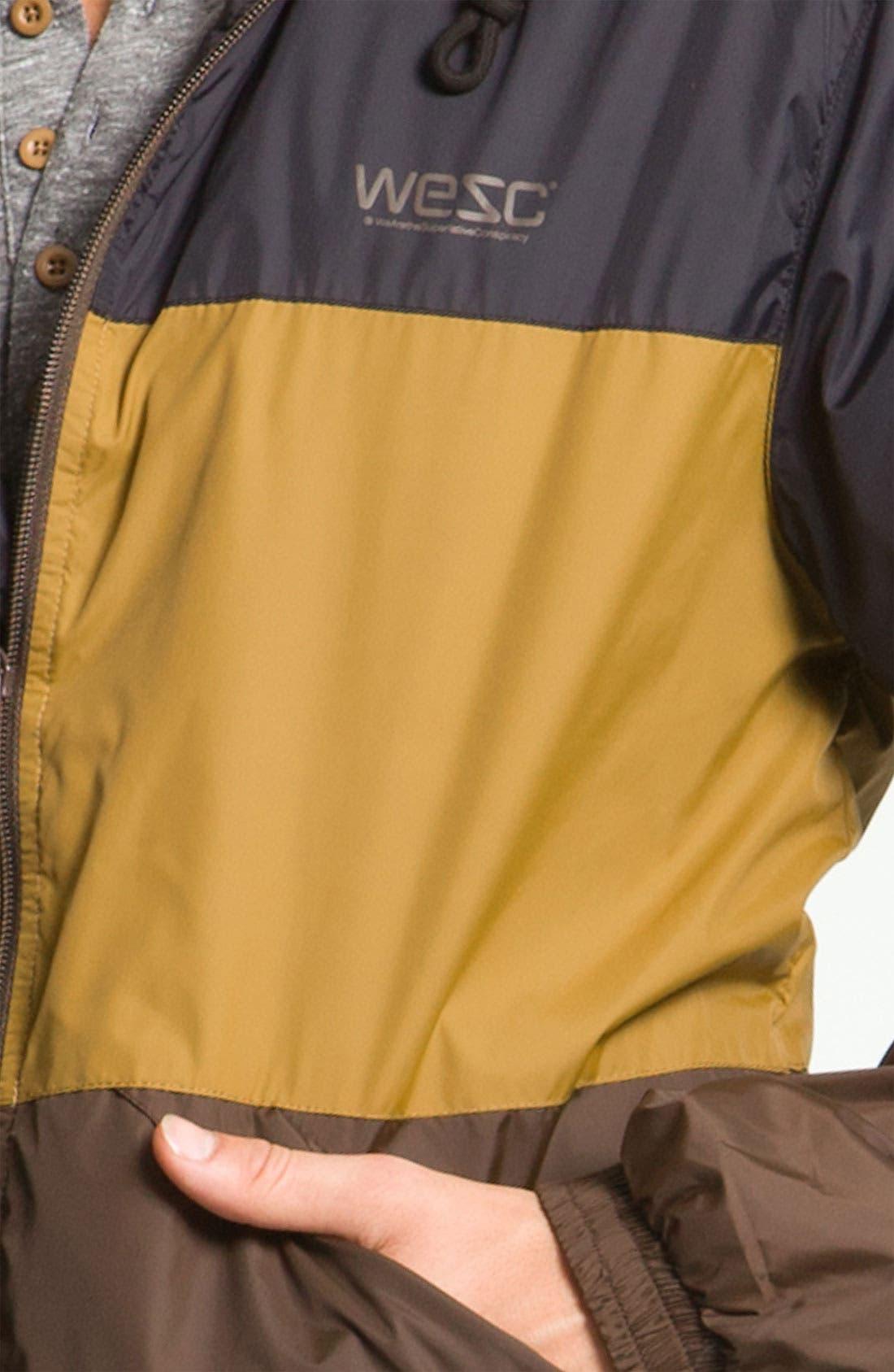 'Magnus' Windbreaker Jacket,                             Alternate thumbnail 4, color,                             001
