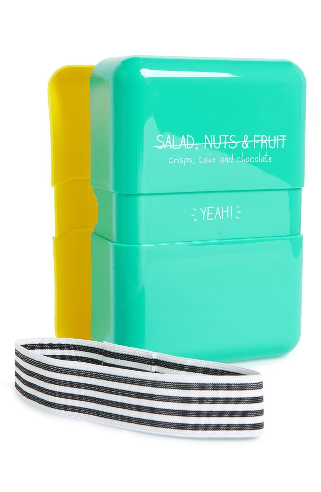 Happy Jackson 'Salad, Nuts & Fruit' Lunch Box,                             Alternate thumbnail 4, color,                             400