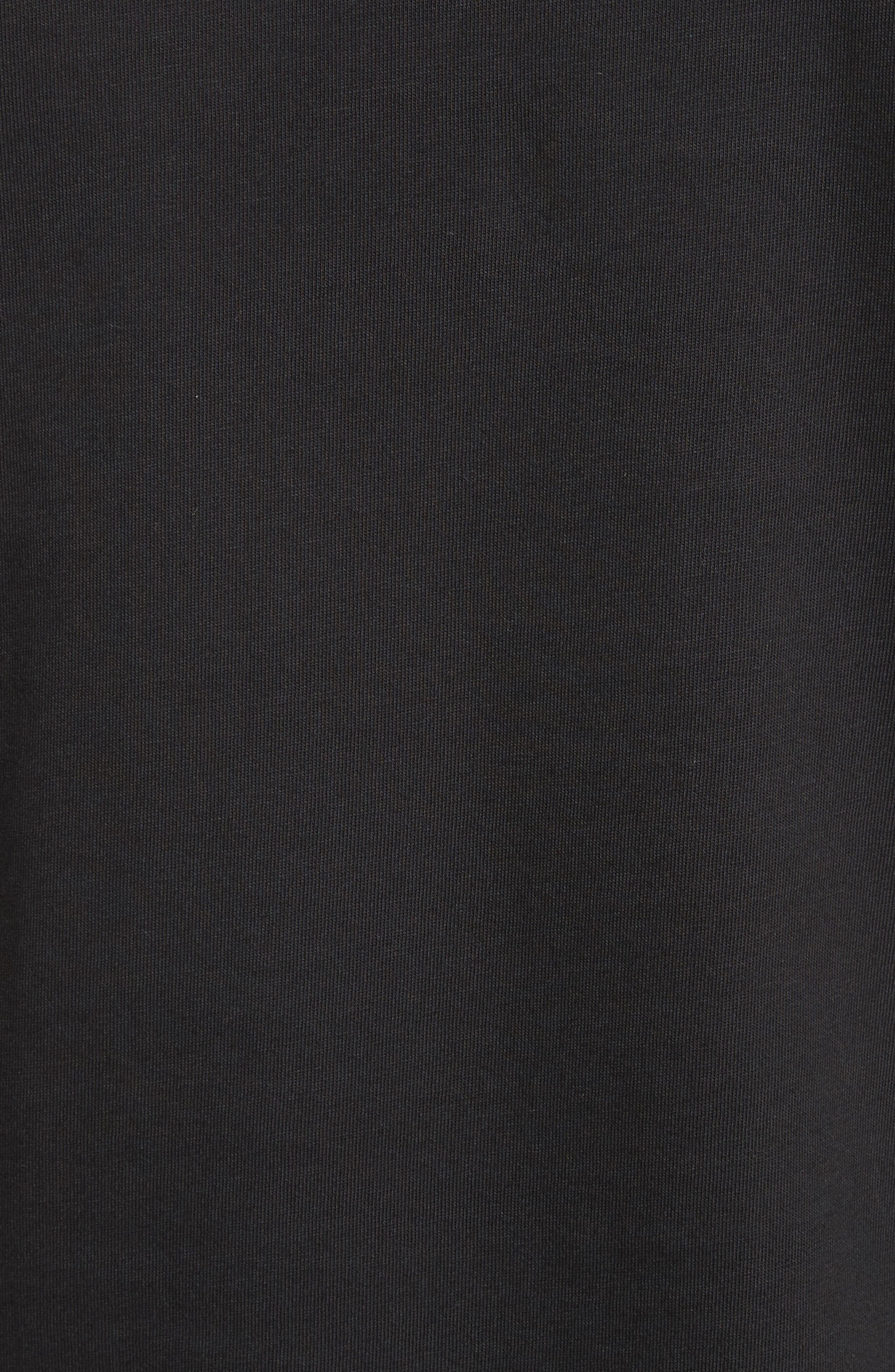 Patch Detail T-Shirt,                             Alternate thumbnail 5, color,                             001