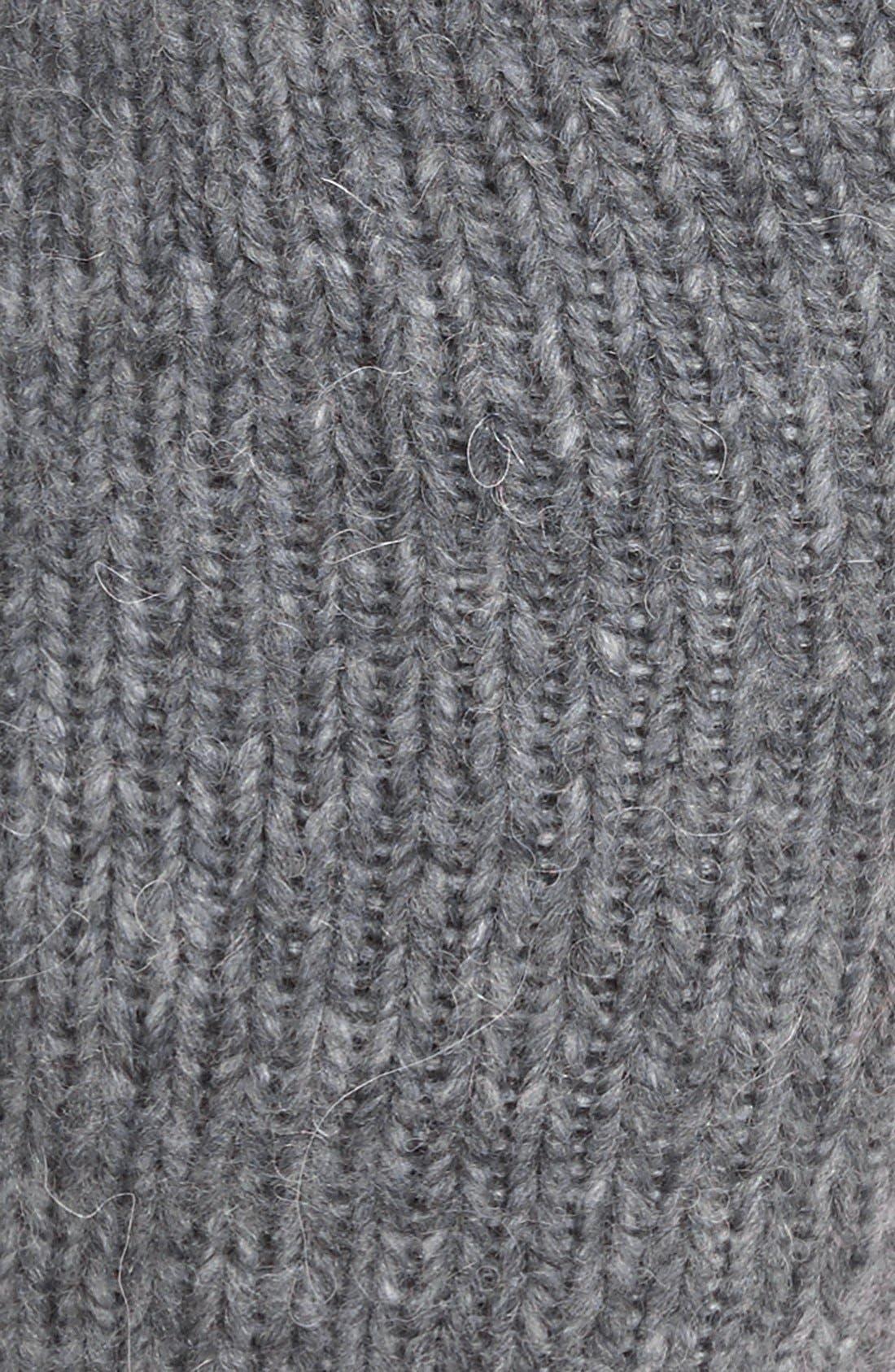 LEMON,                             Powdered Wool Blend Leg Warmers,                             Alternate thumbnail 2, color,                             069