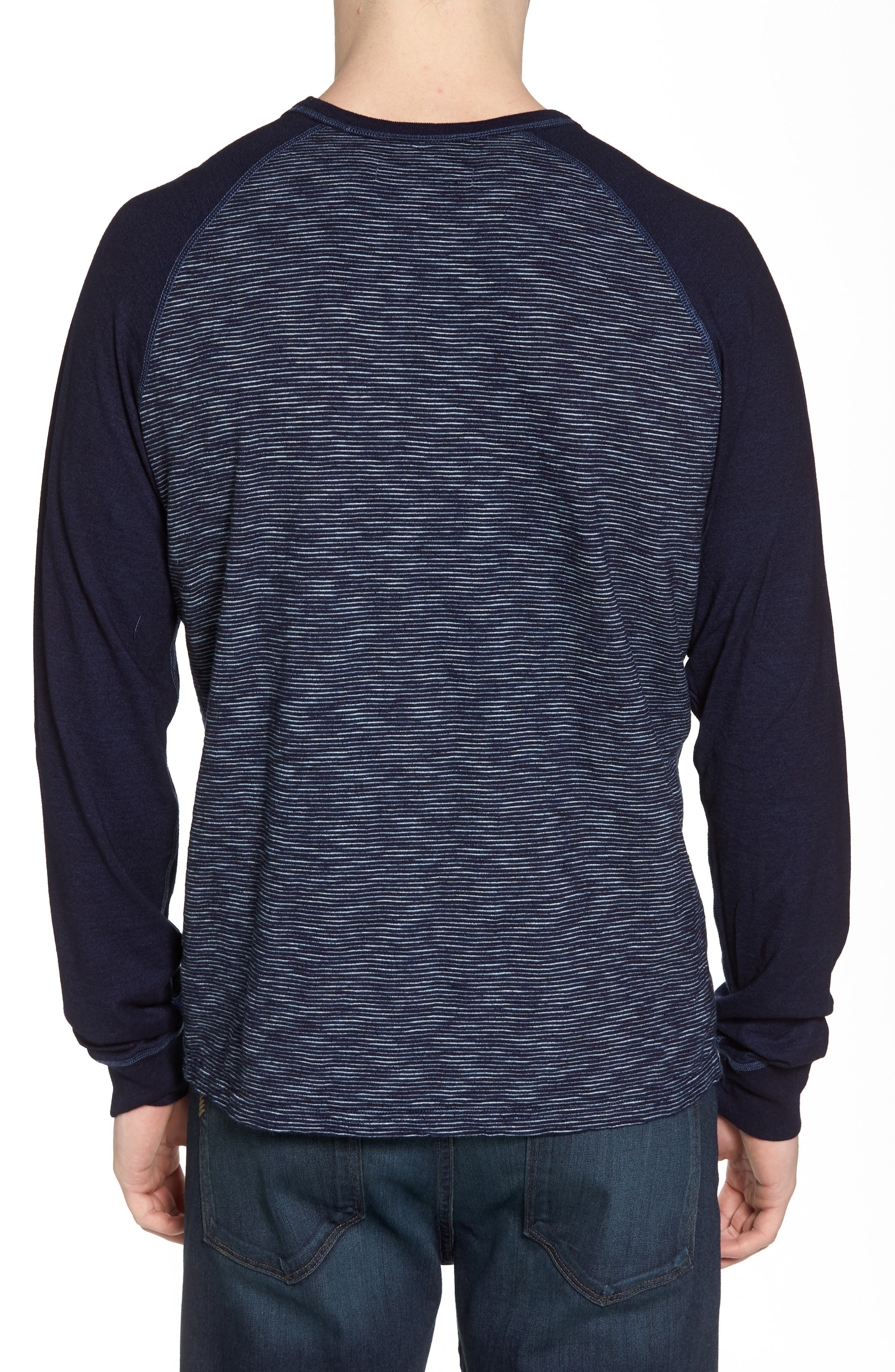NIFTY GENIUS,                             Jackie Stripe Raglan Pullover,                             Alternate thumbnail 2, color,                             401