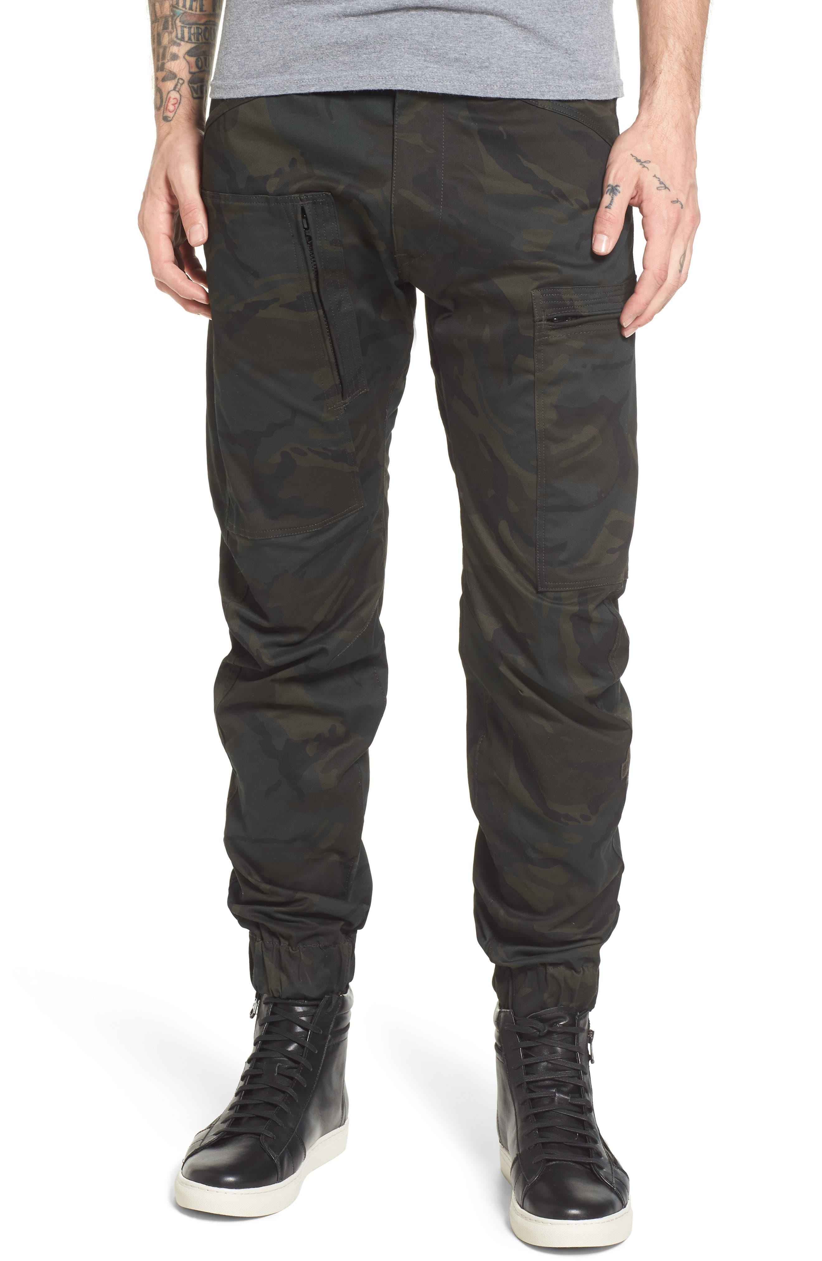 Powel 3D Tapered Jogger Pants,                             Main thumbnail 1, color,                             020