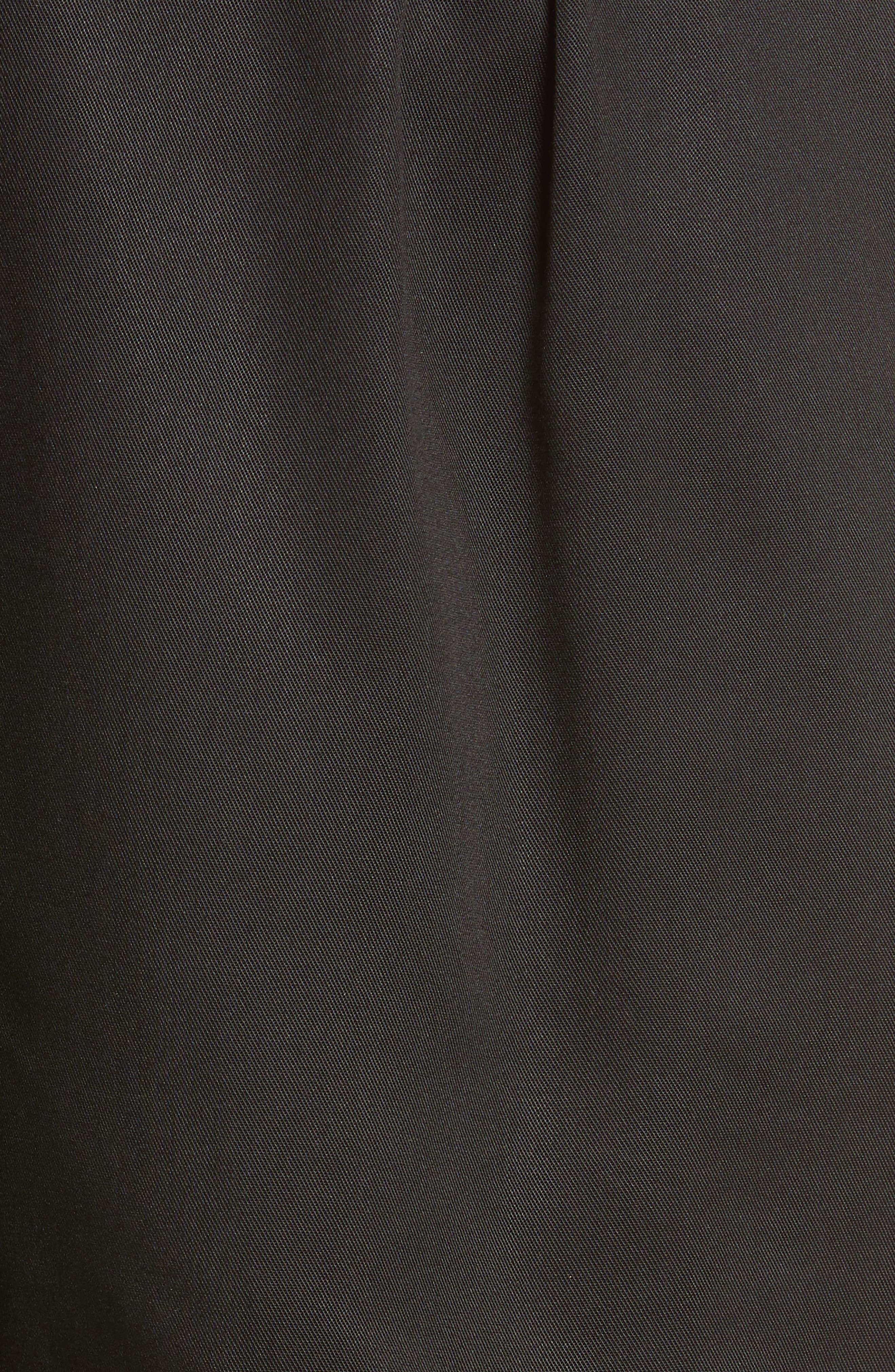 D-Ring Belted Shorts,                             Alternate thumbnail 5, color,                             BLACK