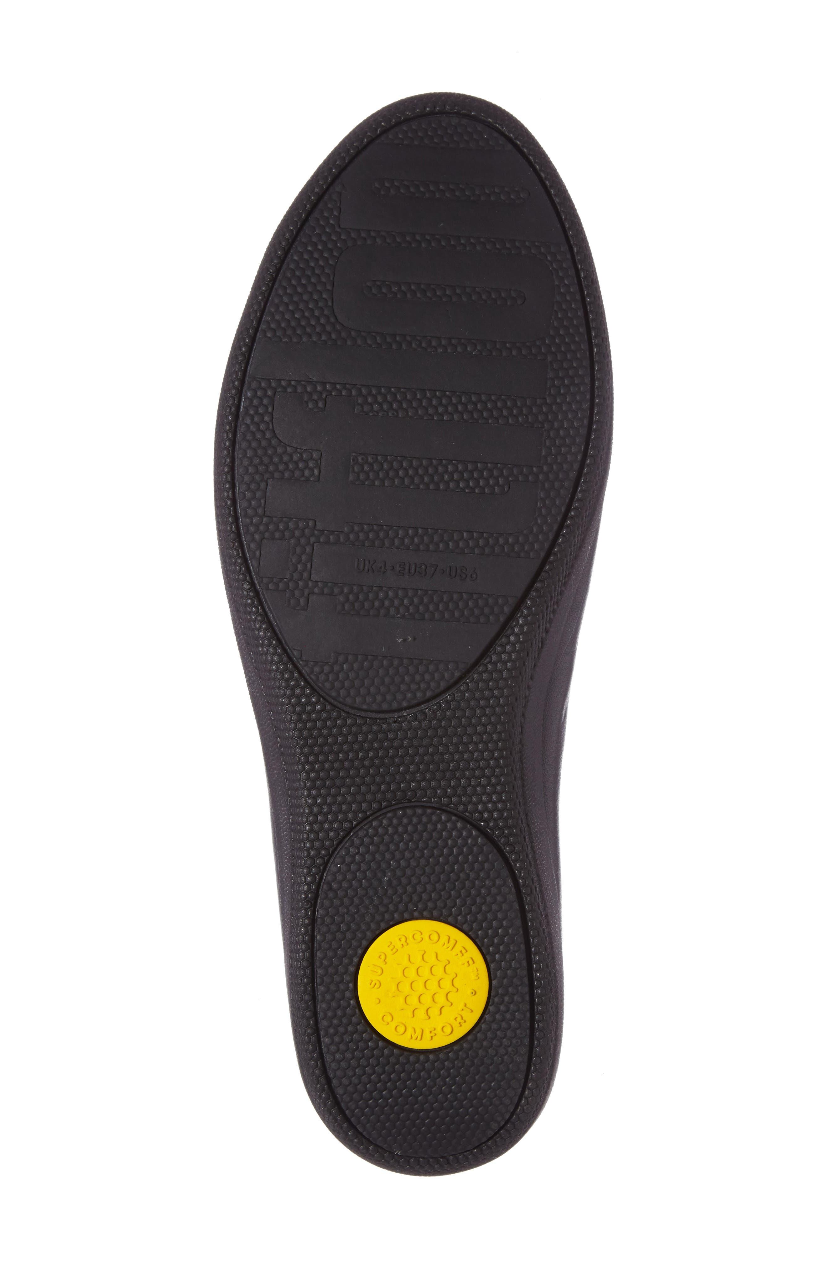 Sneaker Loafer Flat,                             Alternate thumbnail 4, color,                             001