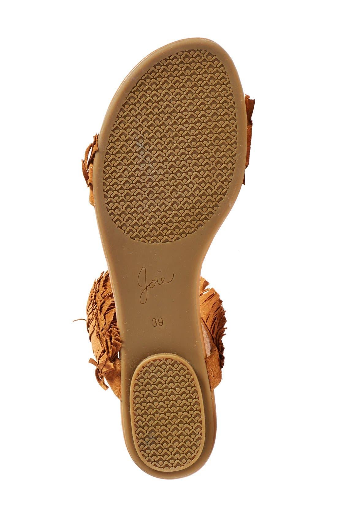'Pippa' Fringe Slide Sandal,                             Alternate thumbnail 3, color,                             229