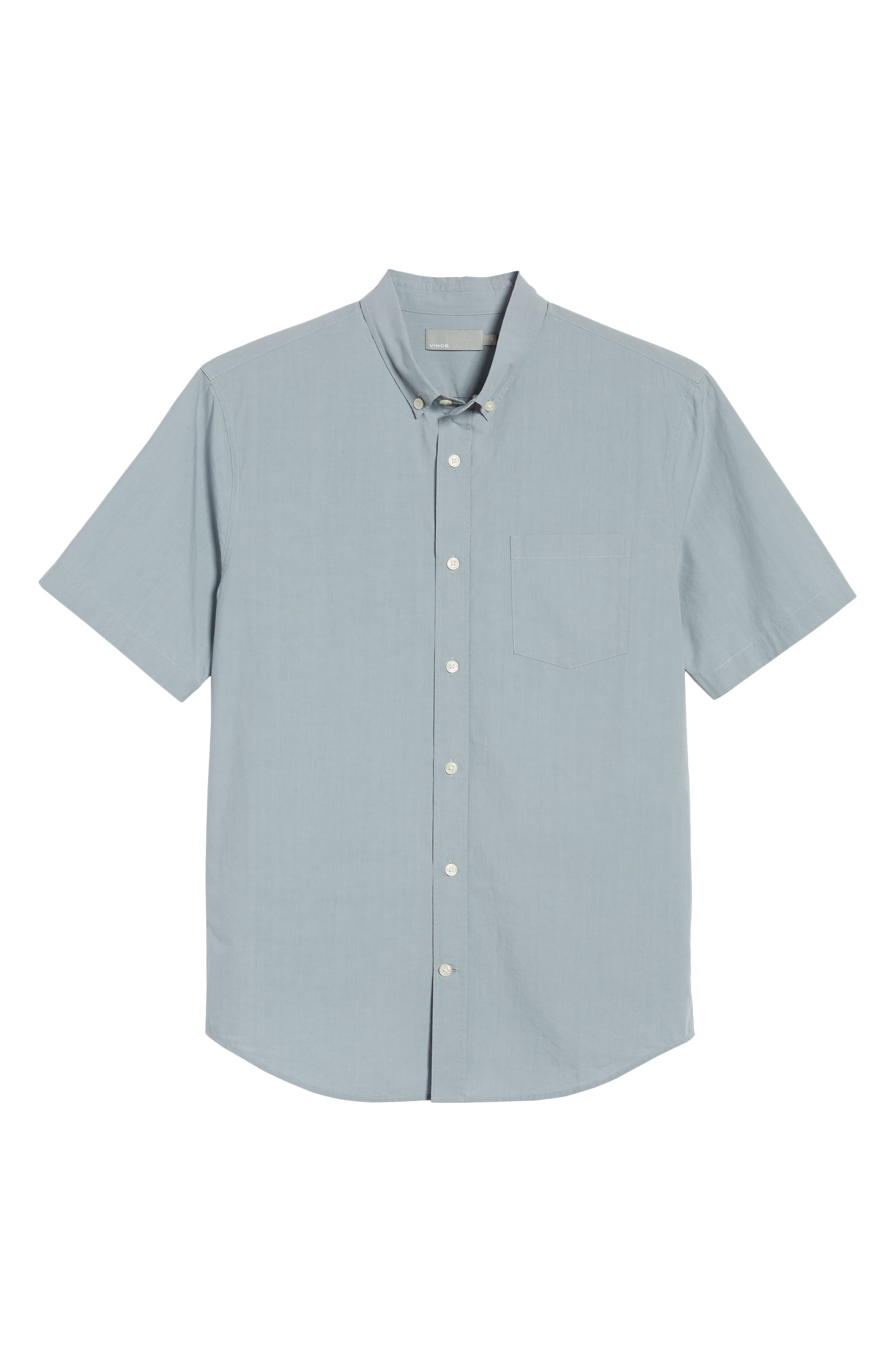 Slim Fit Sport Shirt,                             Alternate thumbnail 6, color,                             STORM
