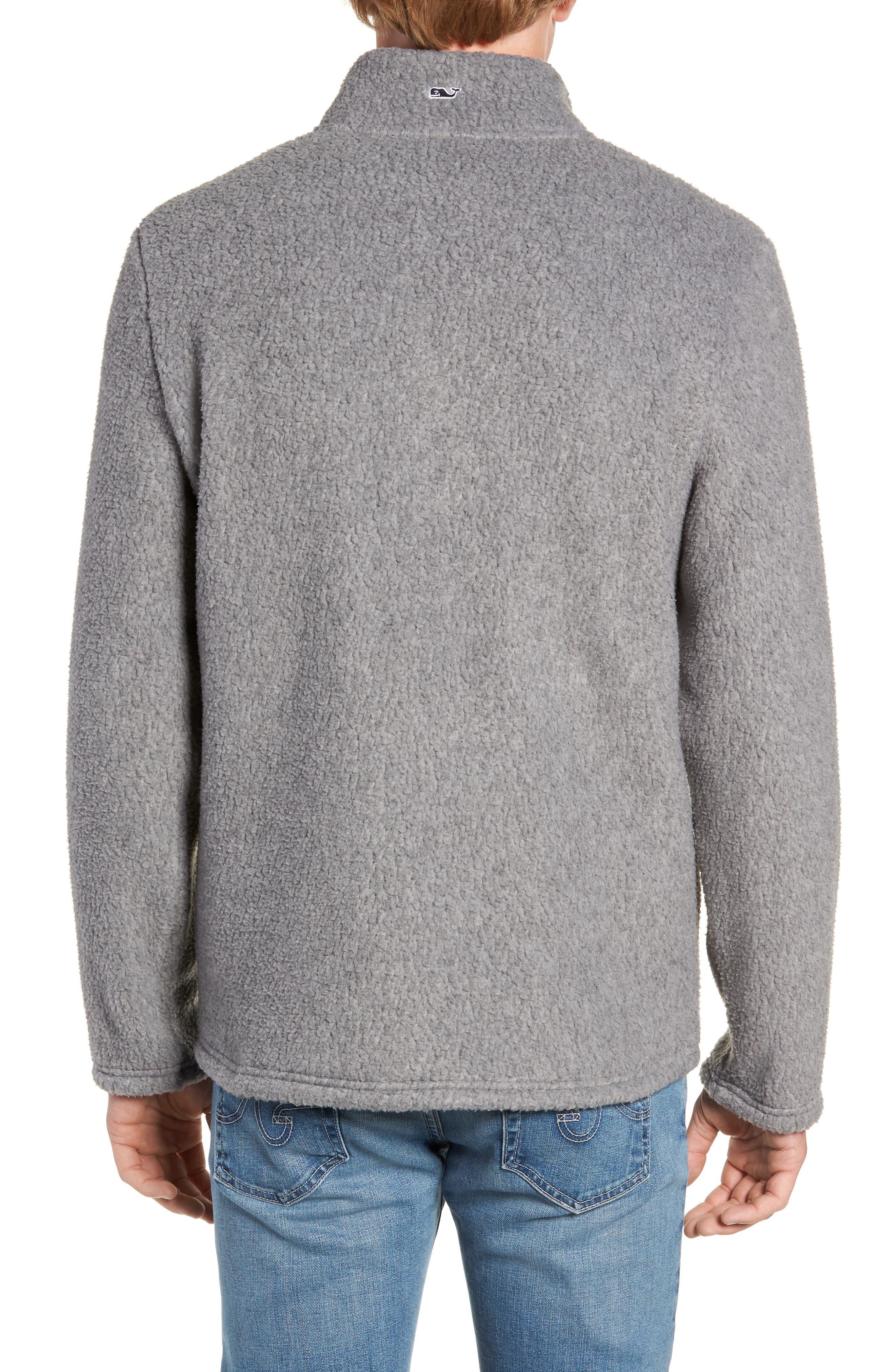 Fleece Quarter Zip Pullover,                             Alternate thumbnail 2, color,                             020