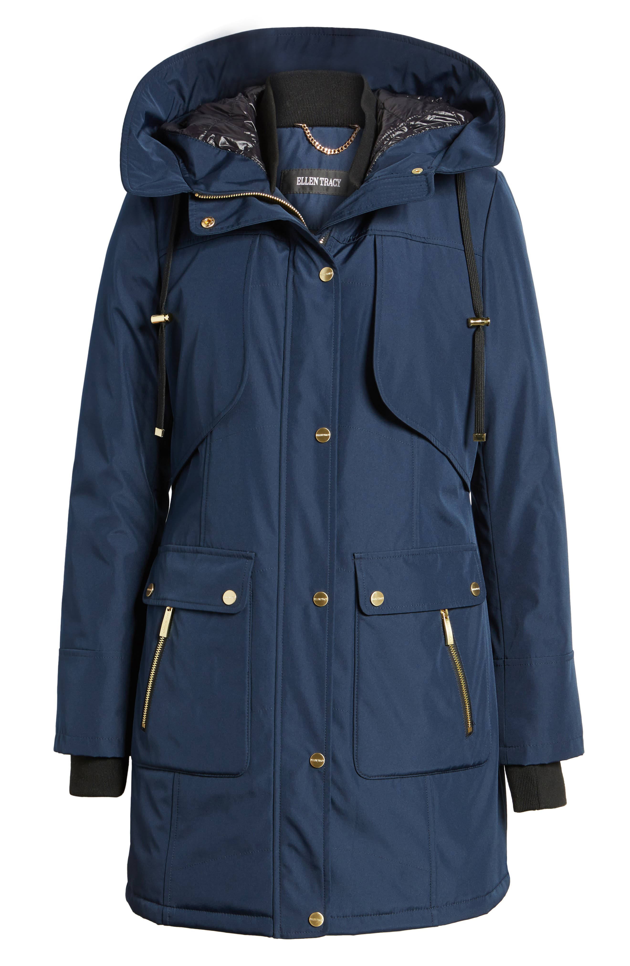 Quilted Techno Parka,                             Alternate thumbnail 10, color,