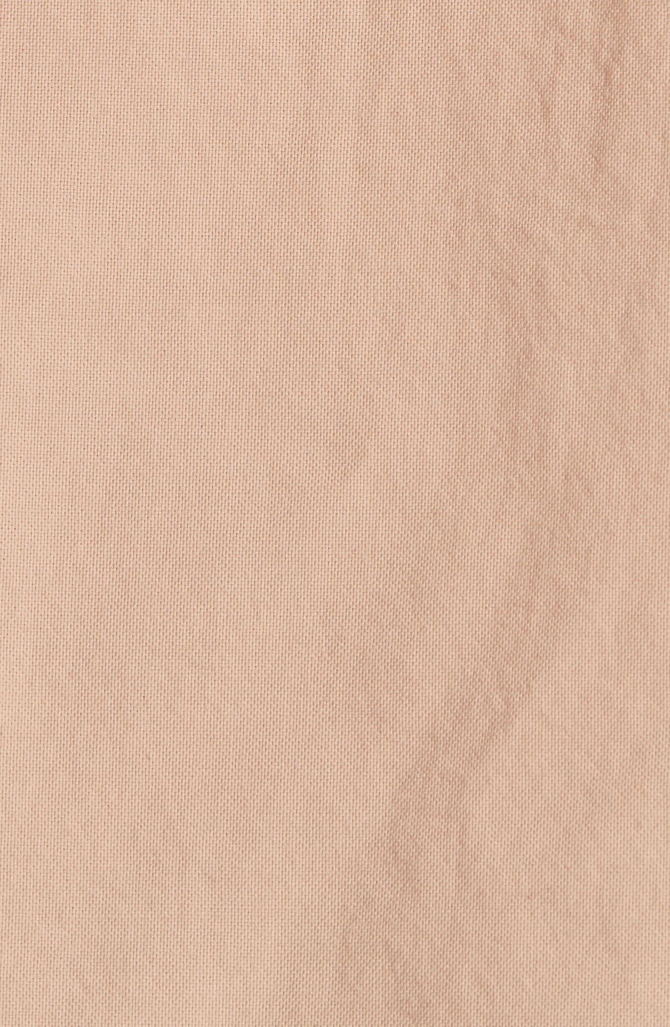 Oversize Basketweave Shirt,                             Alternate thumbnail 5, color,                             680