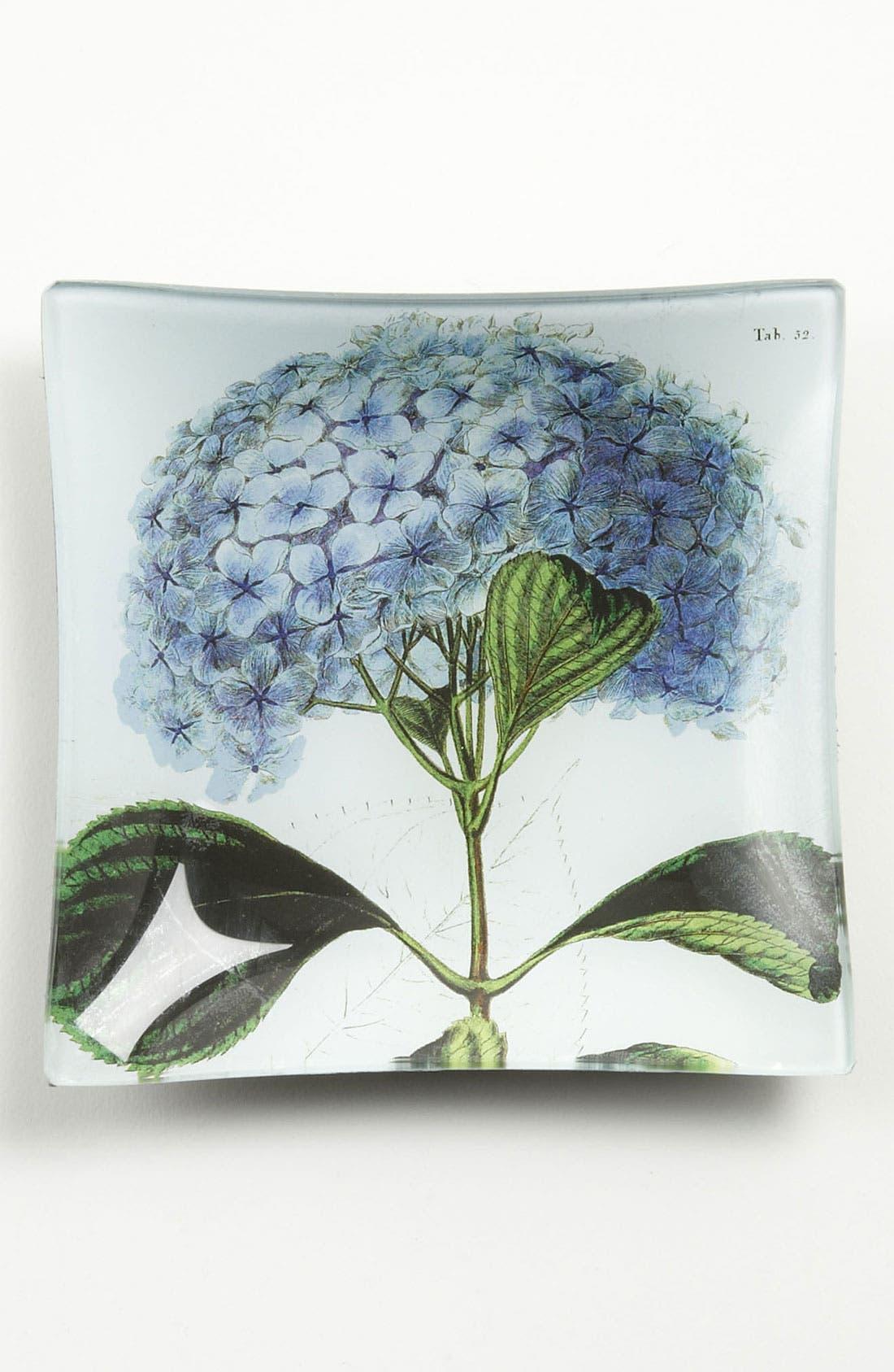 'Blue Hydrangea' Trinket Tray,                         Main,                         color, 960