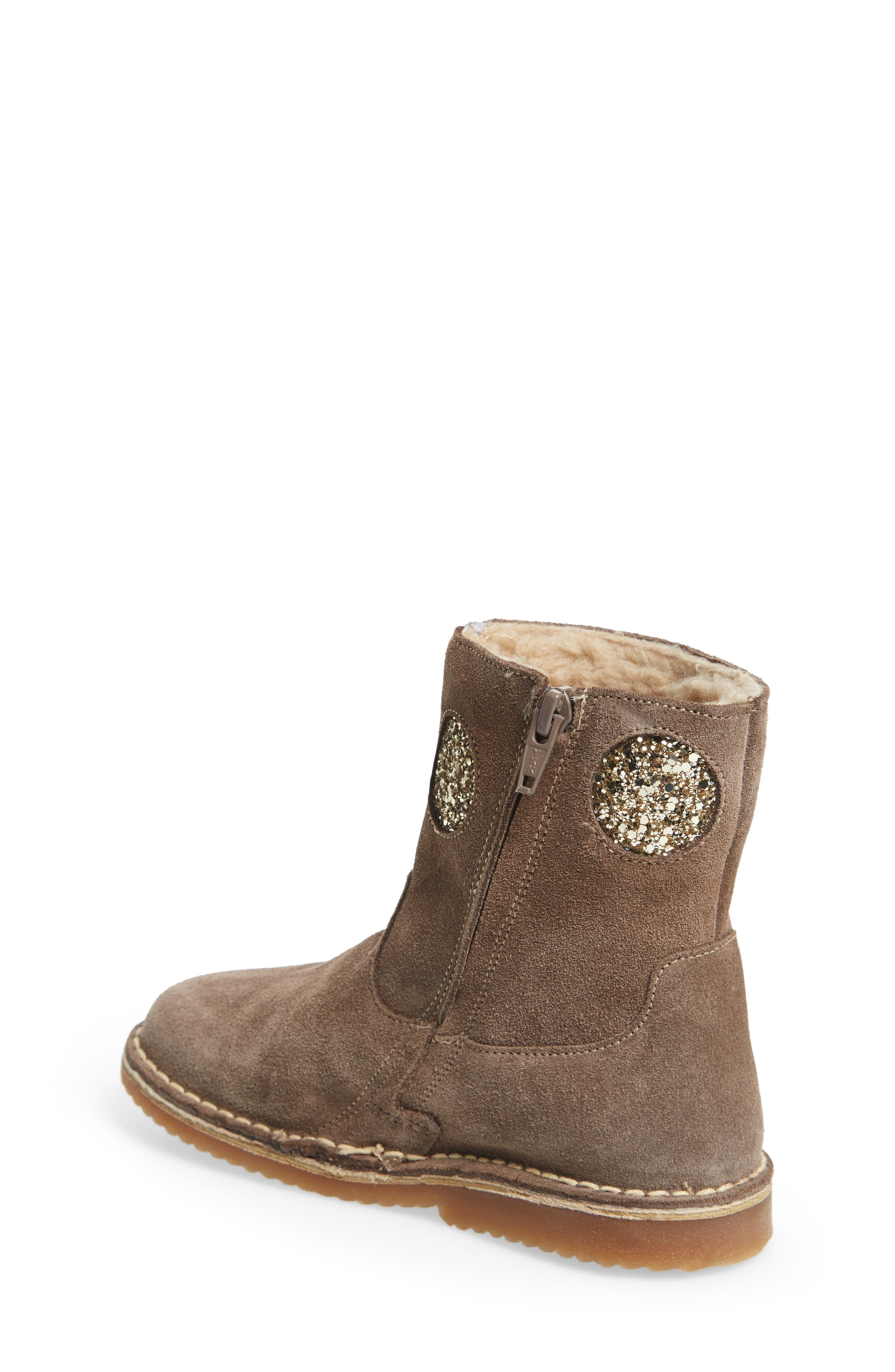Faux Fur Glitter Star Boot,                             Alternate thumbnail 2, color,                             214