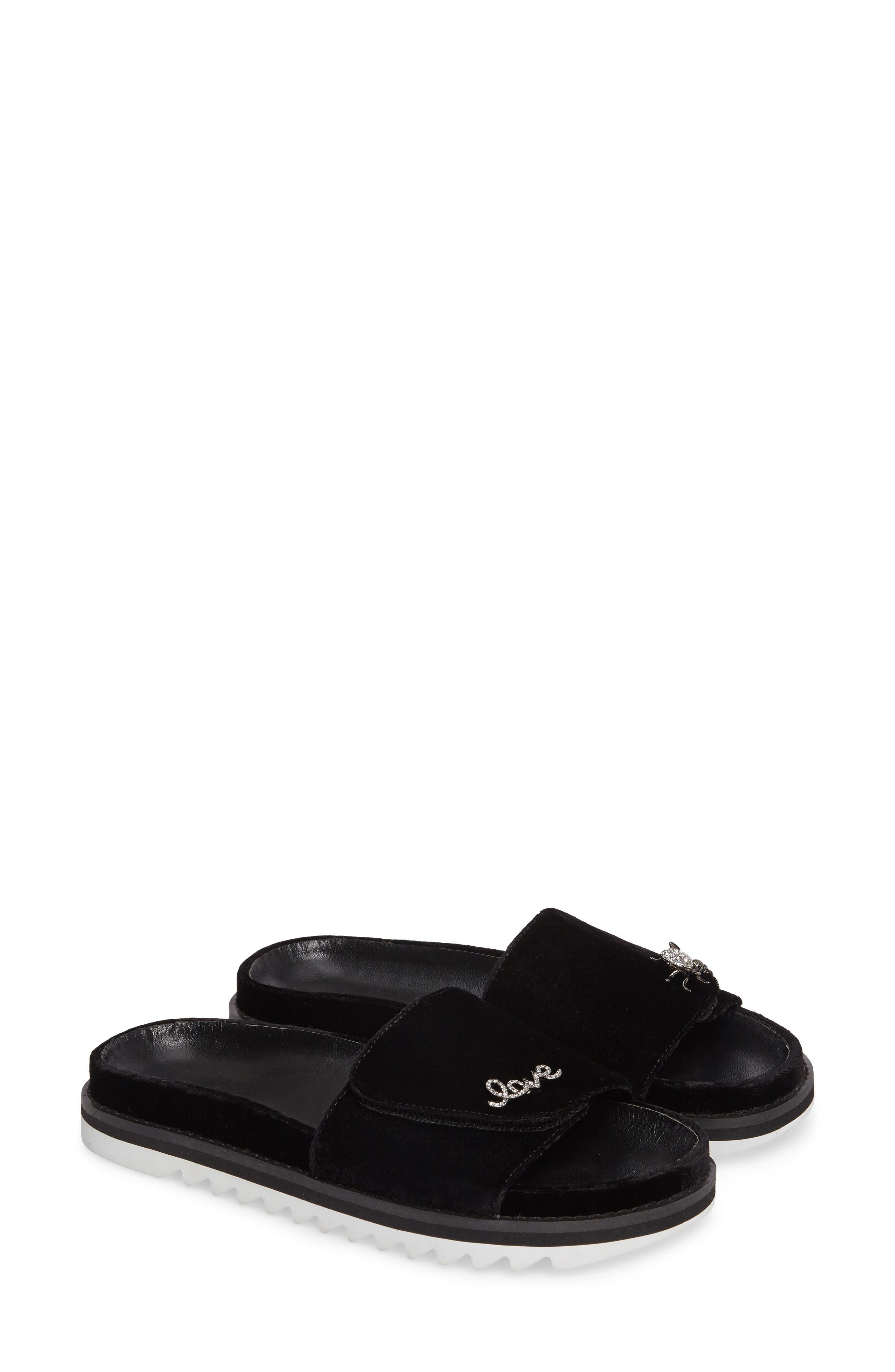 Jacinda Slide Sandal,                         Main,                         color, 001
