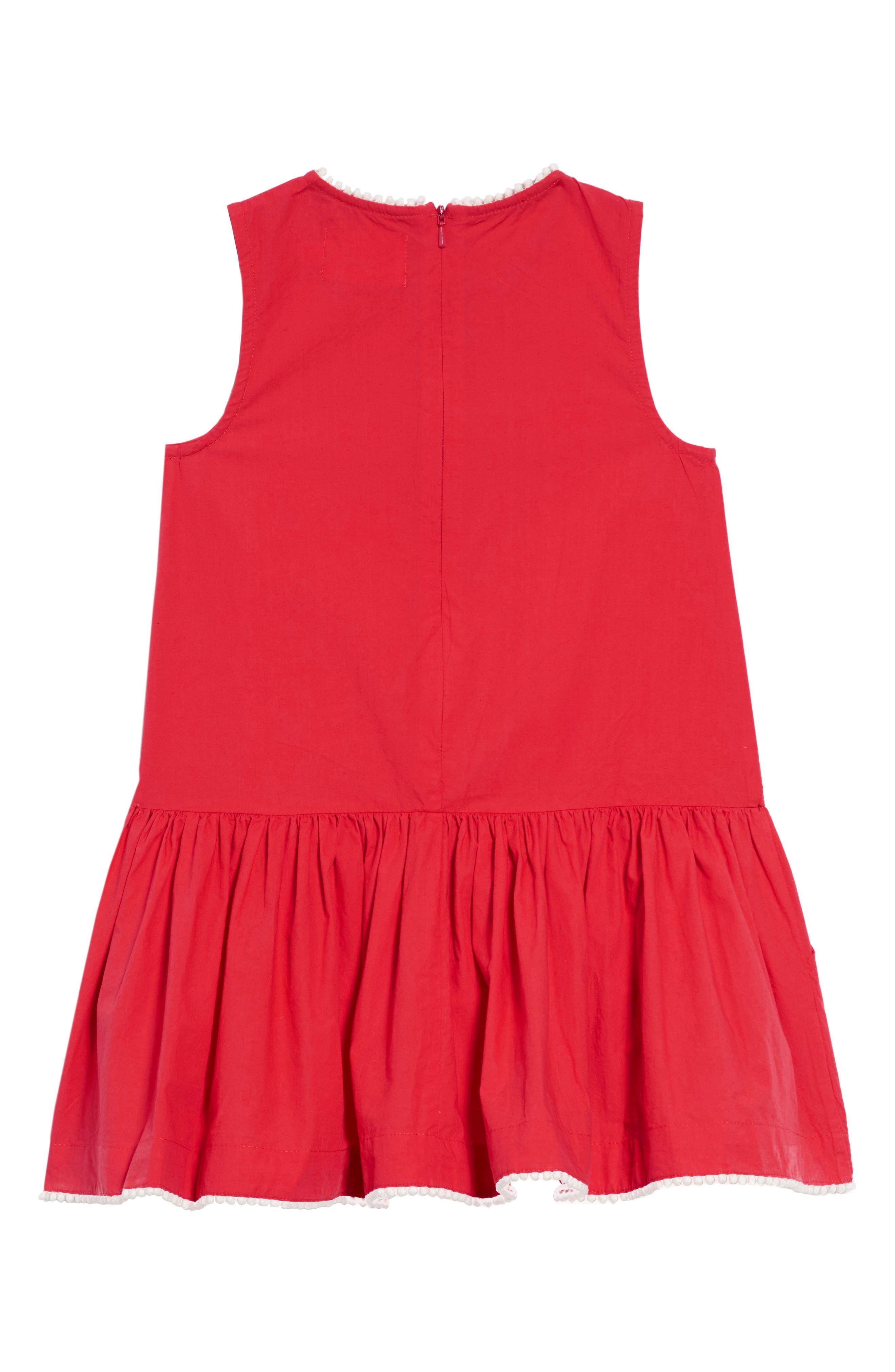 Drop Waist Woven Dress,                             Alternate thumbnail 2, color,                             658