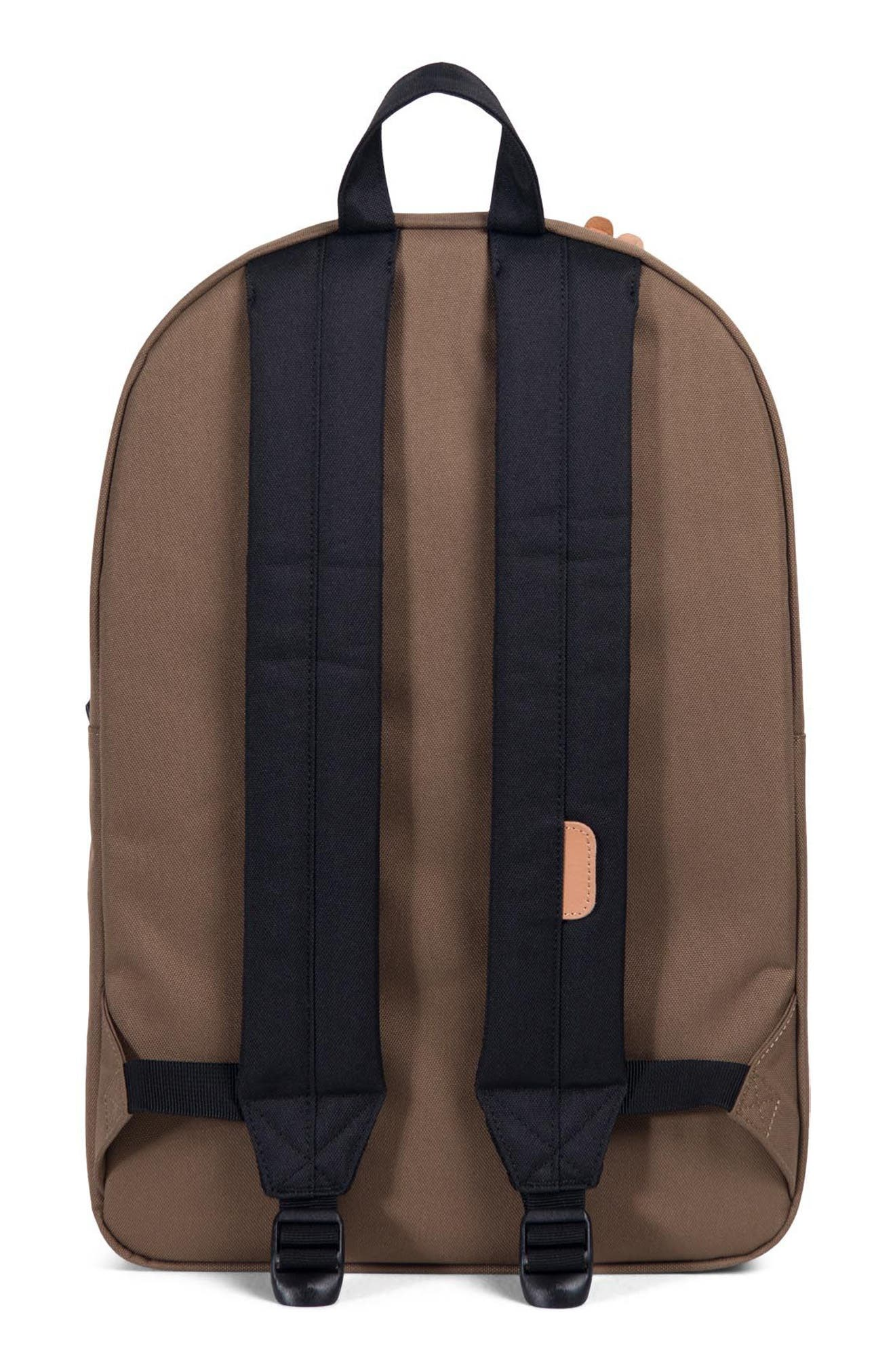 Heritage Offset Stripe Backpack,                             Alternate thumbnail 5, color,