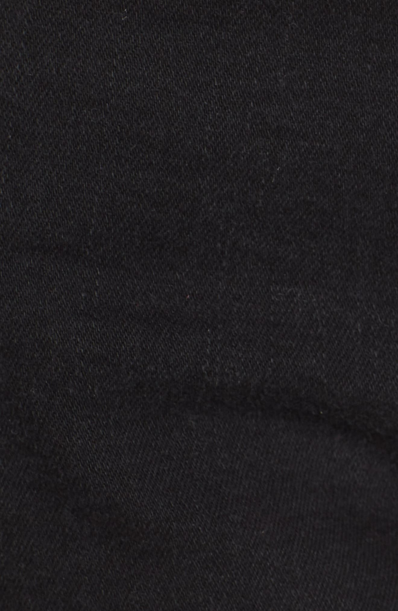 'Margot' High Rise Cutoff Denim Shorts,                             Alternate thumbnail 5, color,                             001