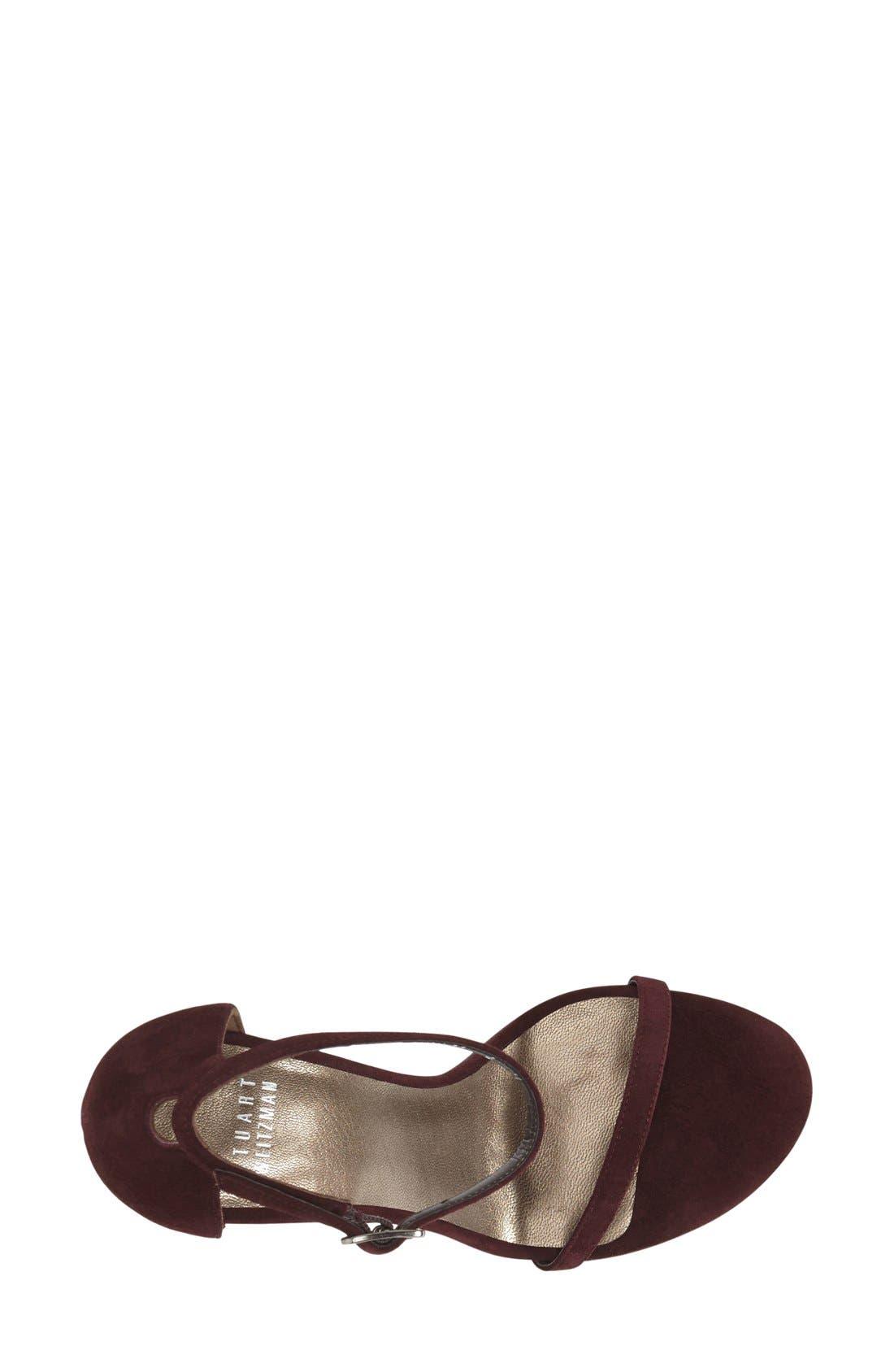 Nudistsong Ankle Strap Sandal,                             Alternate thumbnail 120, color,
