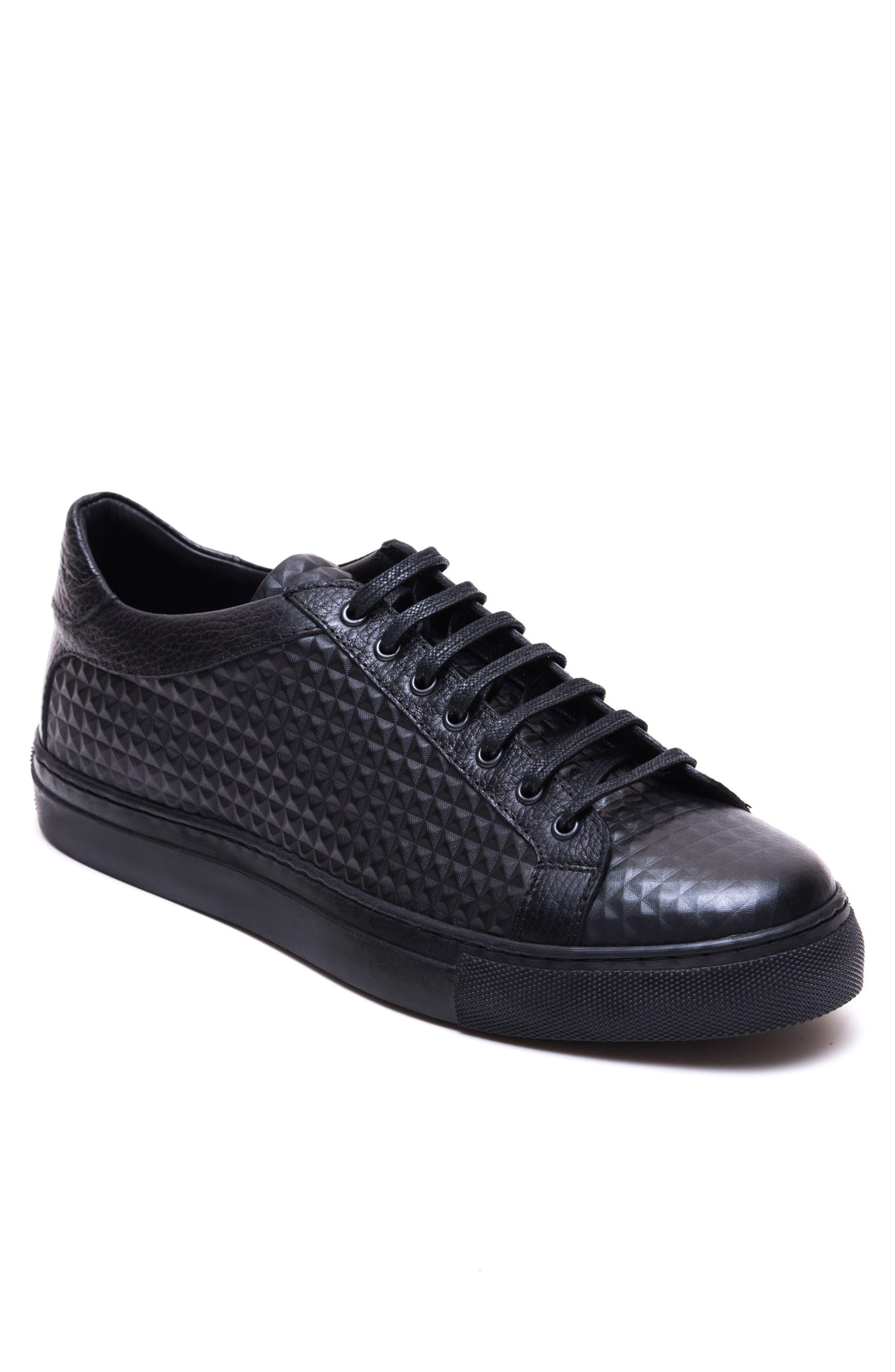 Scott Leather Sneaker,                             Main thumbnail 1, color,