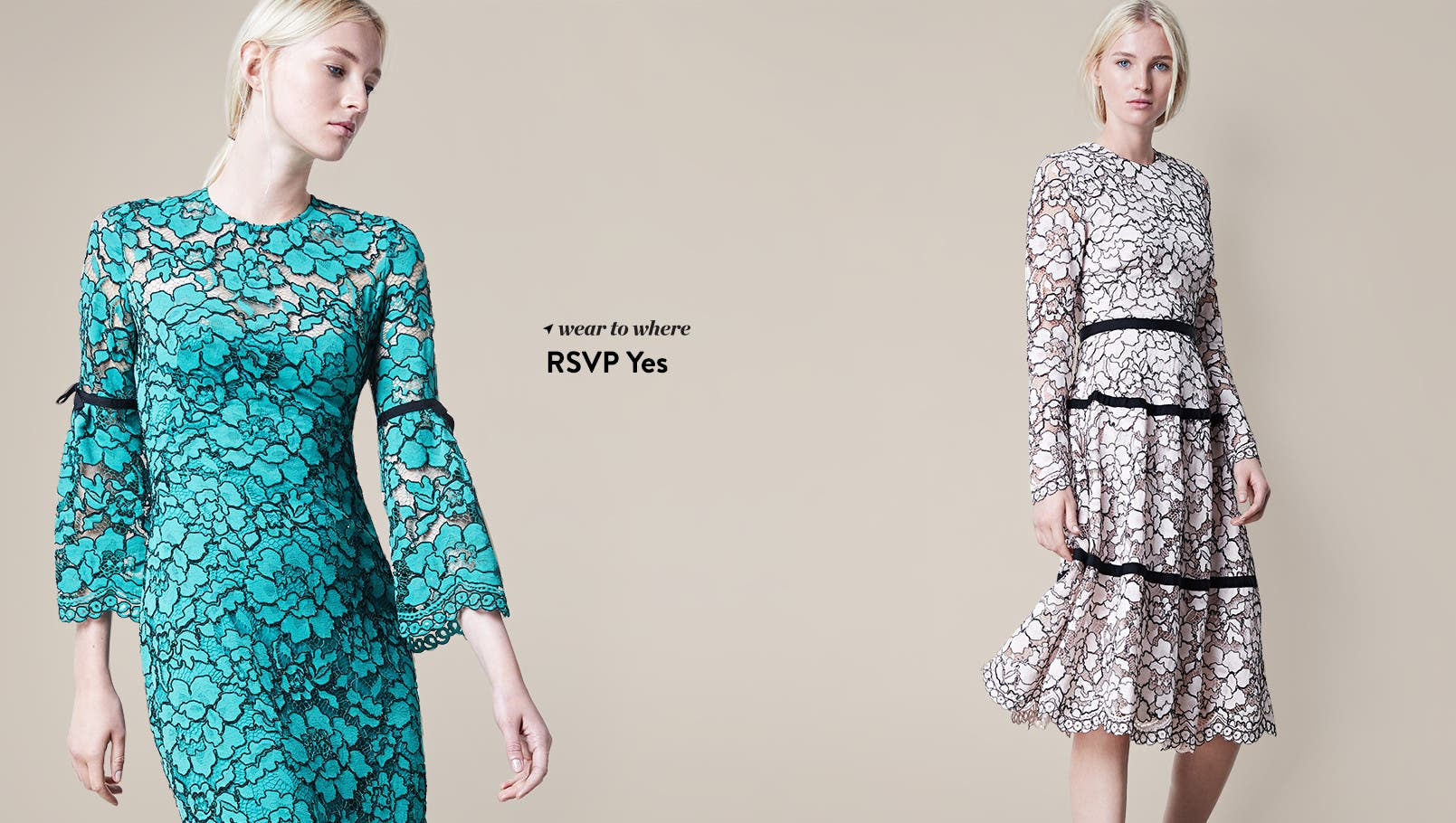 Holiday and designer dressing. Shop now.