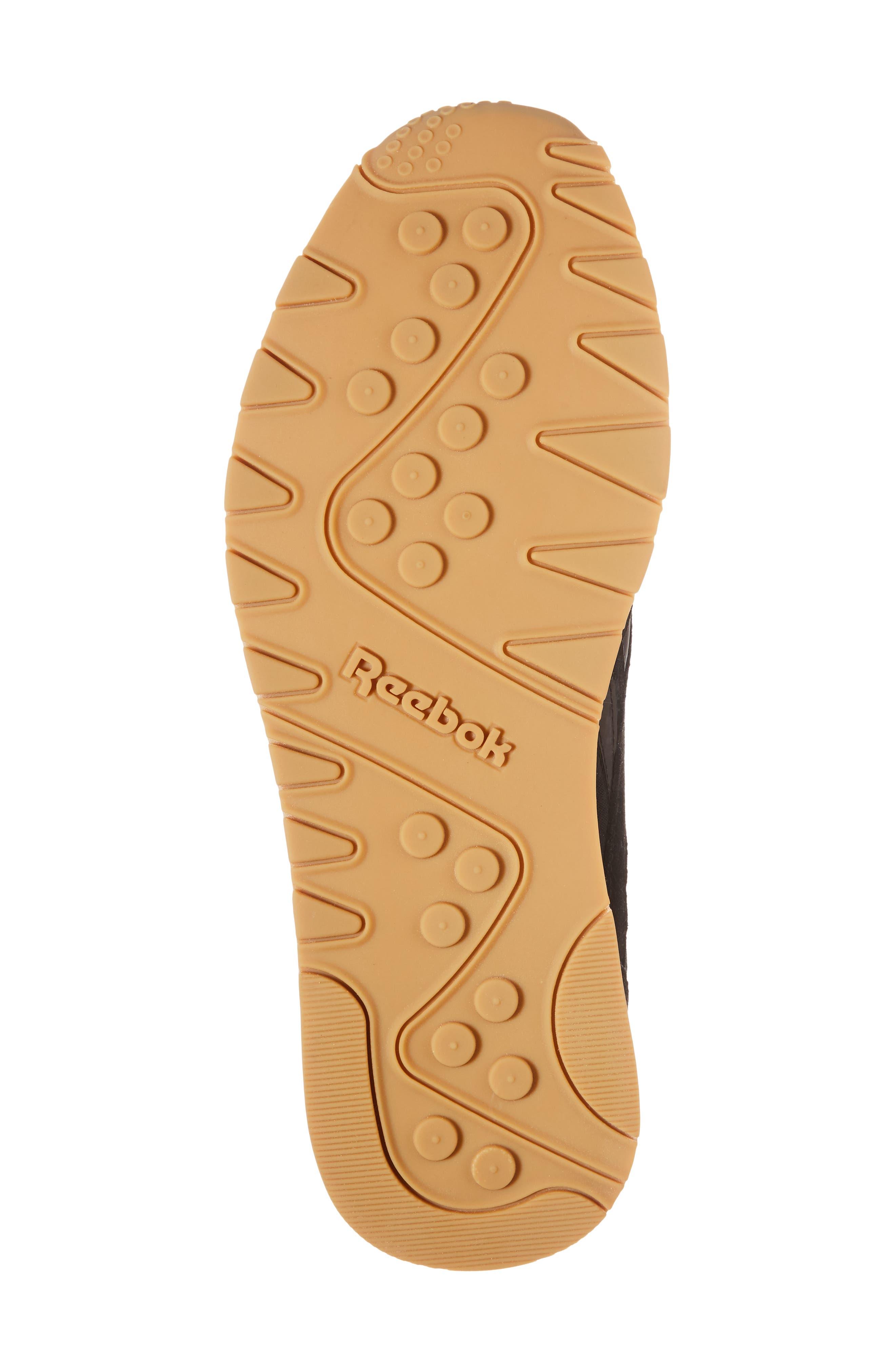 Classic Leather Nylon SG Sneaker,                             Alternate thumbnail 6, color,                             001