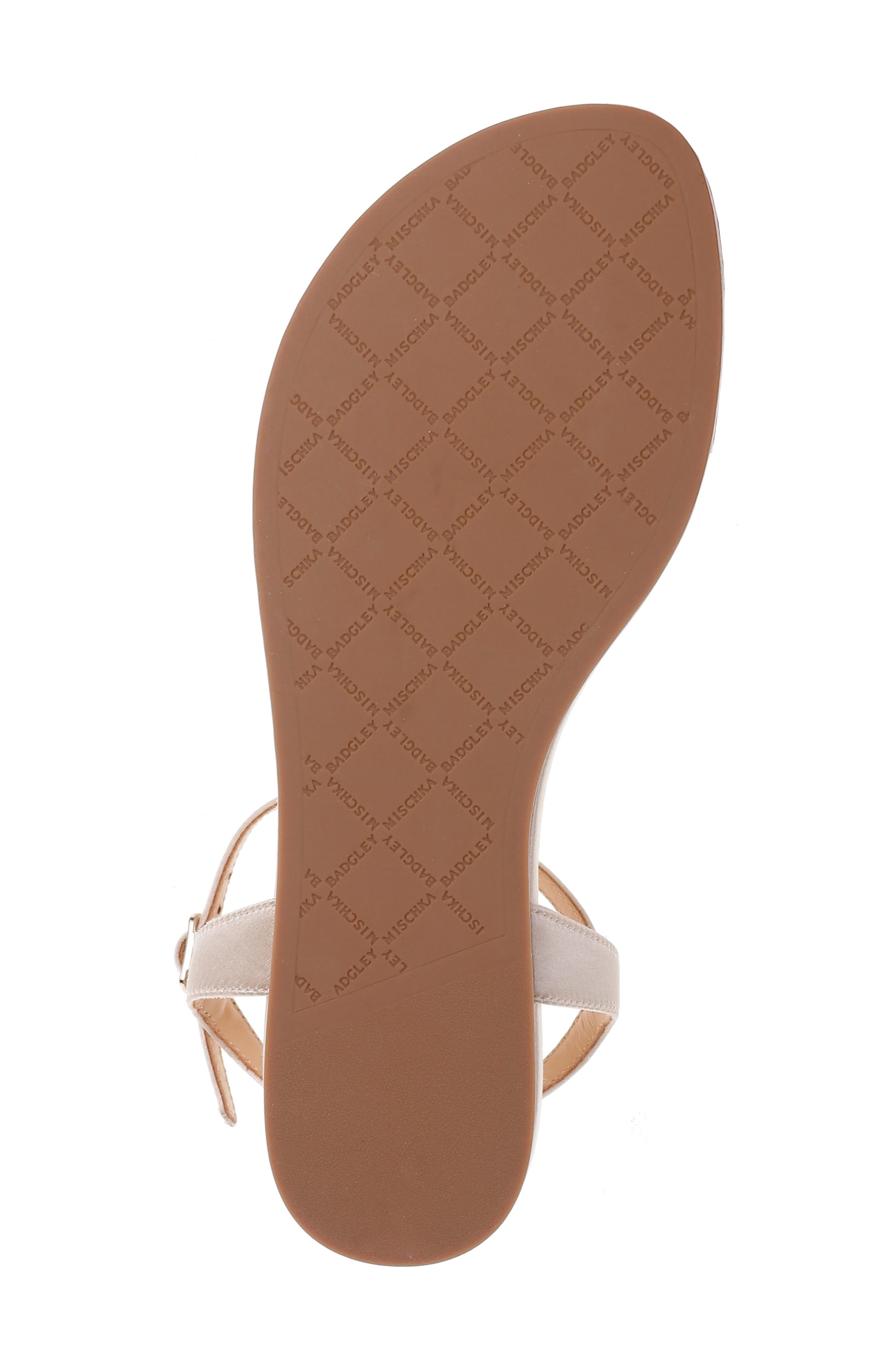 Sissi Crystal Embellished Sandal,                             Alternate thumbnail 6, color,                             100