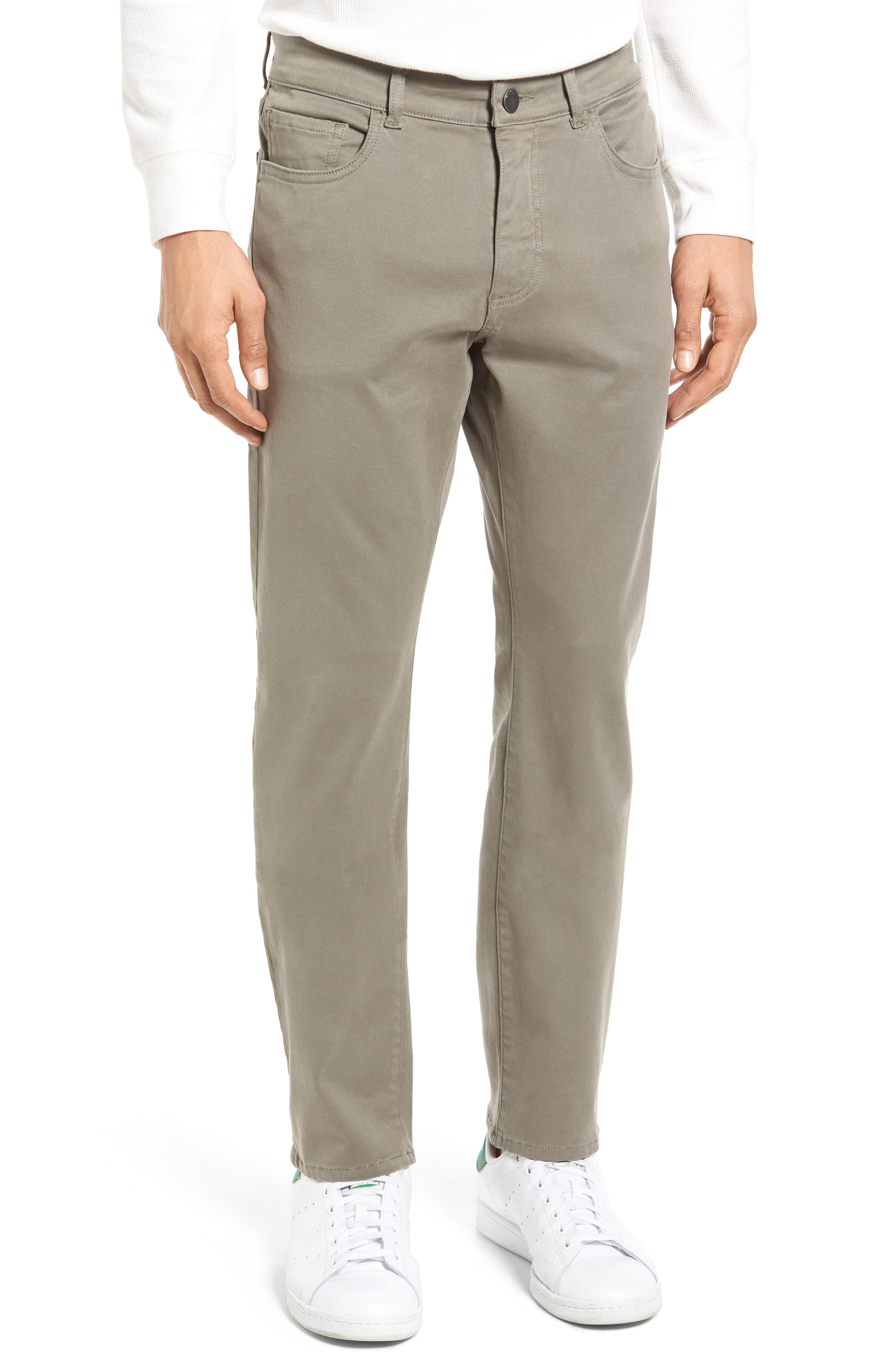 Russell Slim Fit Sateen Twill Pants,                             Main thumbnail 7, color,