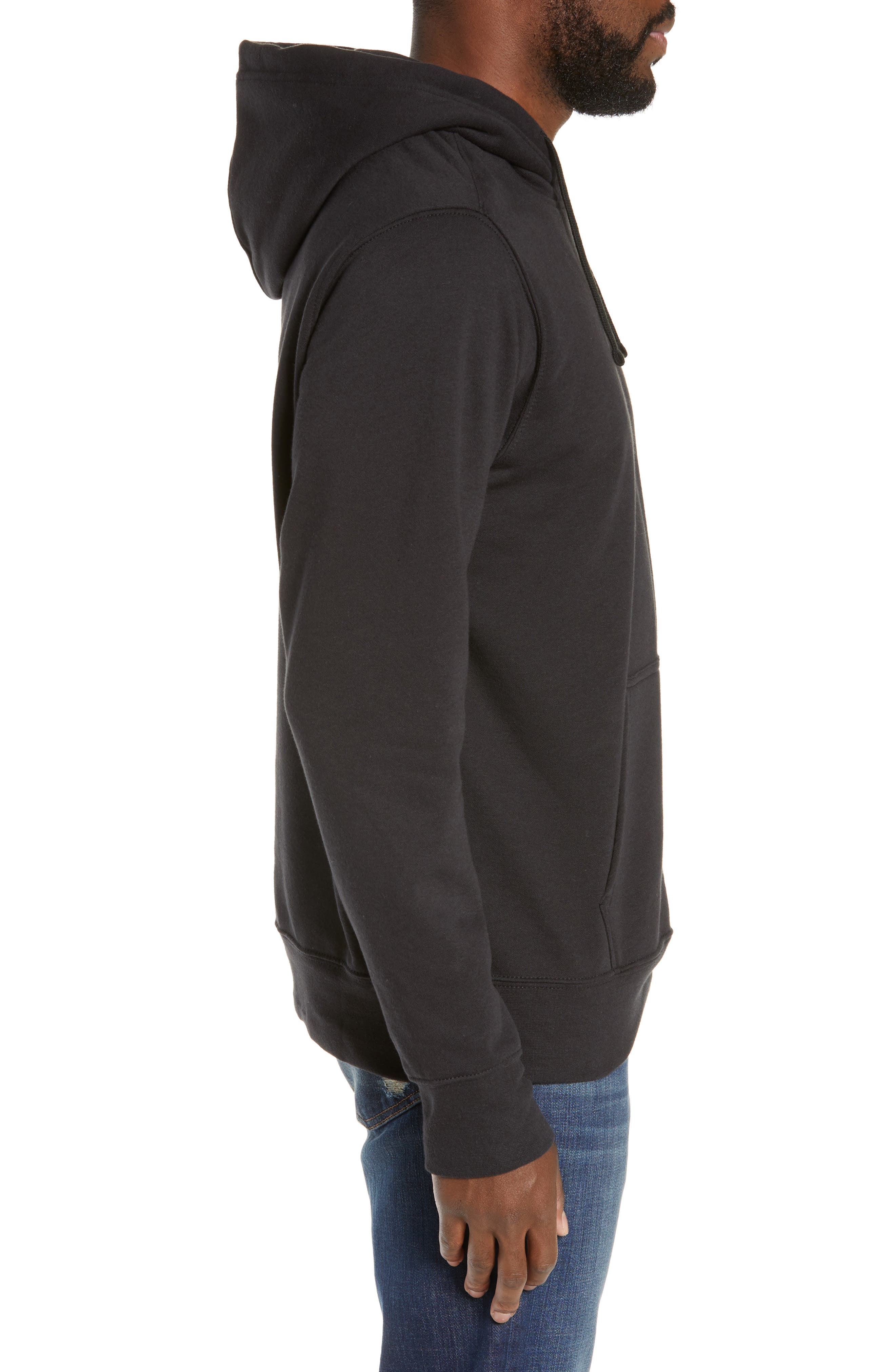 Urban Patches Hoodie,                             Alternate thumbnail 3, color,                             001
