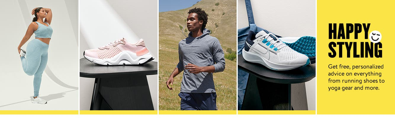 Preview Anniversary Sale for activewear now. Happy styling. Get free, personalized advice on everything from running shoes to yoga gear and more.