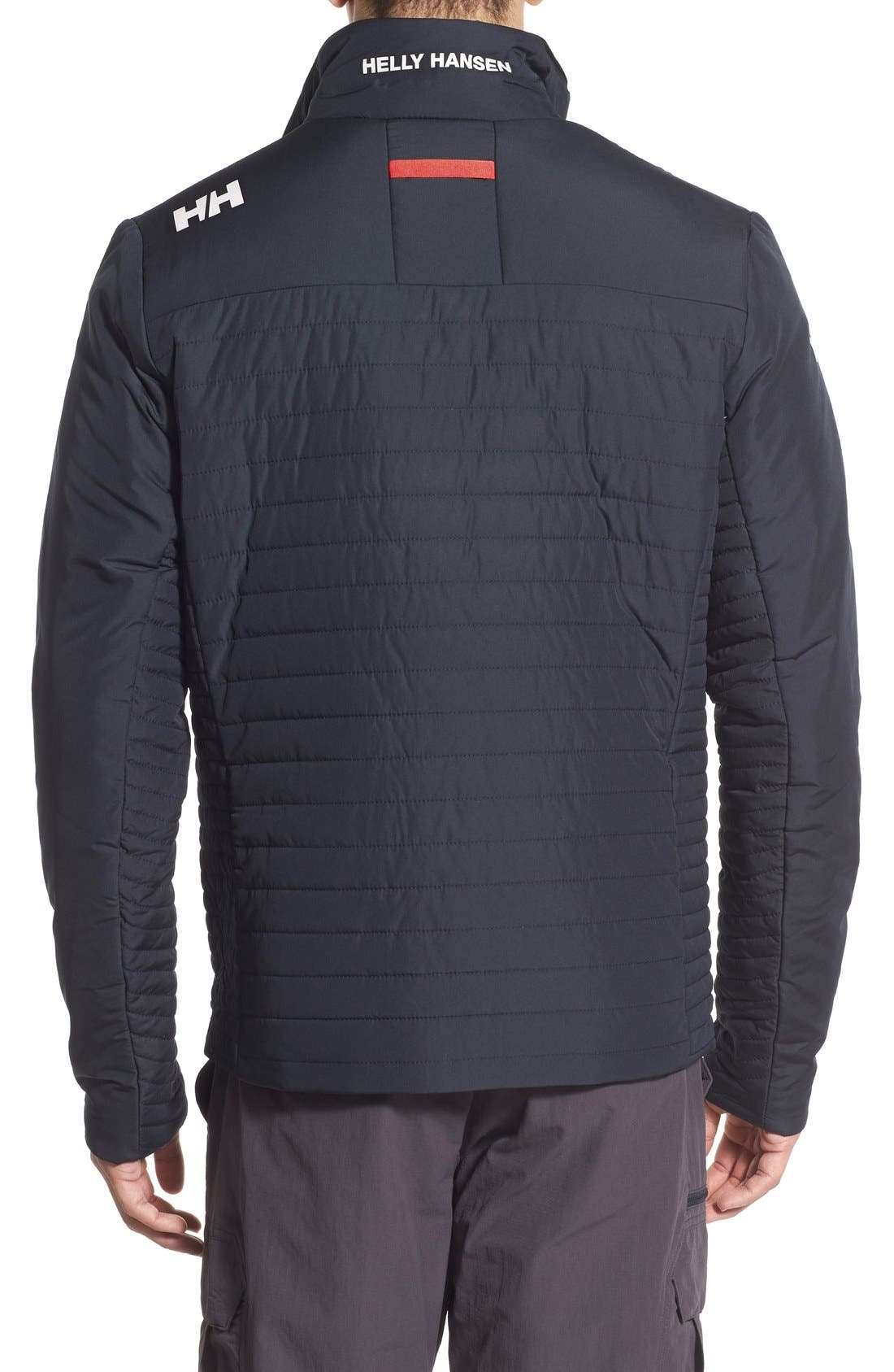 'Crew' Water & Wind Resistant Primaloft<sup>®</sup> Jacket,                             Alternate thumbnail 2, color,                             NAVY