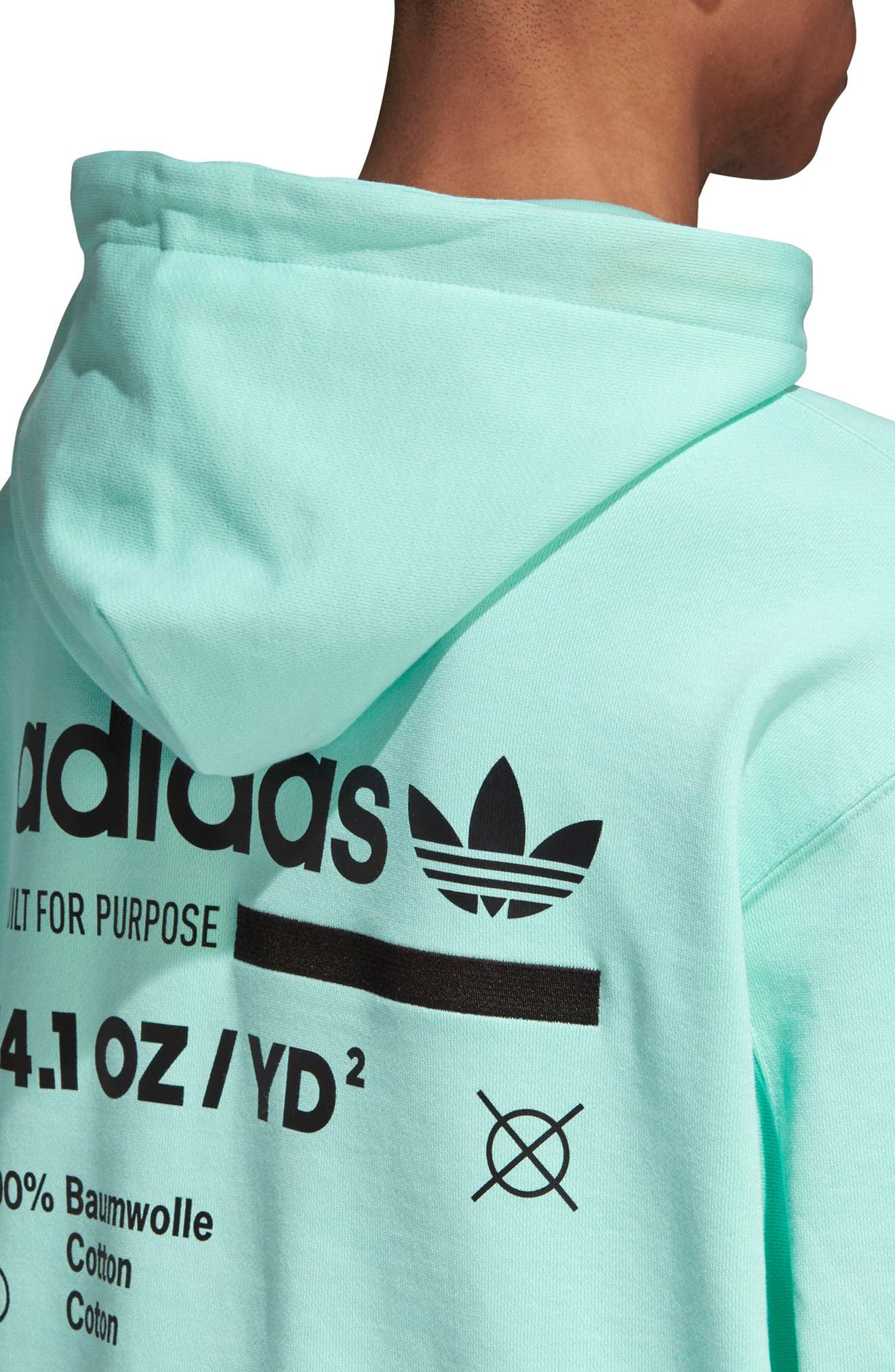 Kaval Hoodie,                             Alternate thumbnail 4, color,                             CLEAR MINT