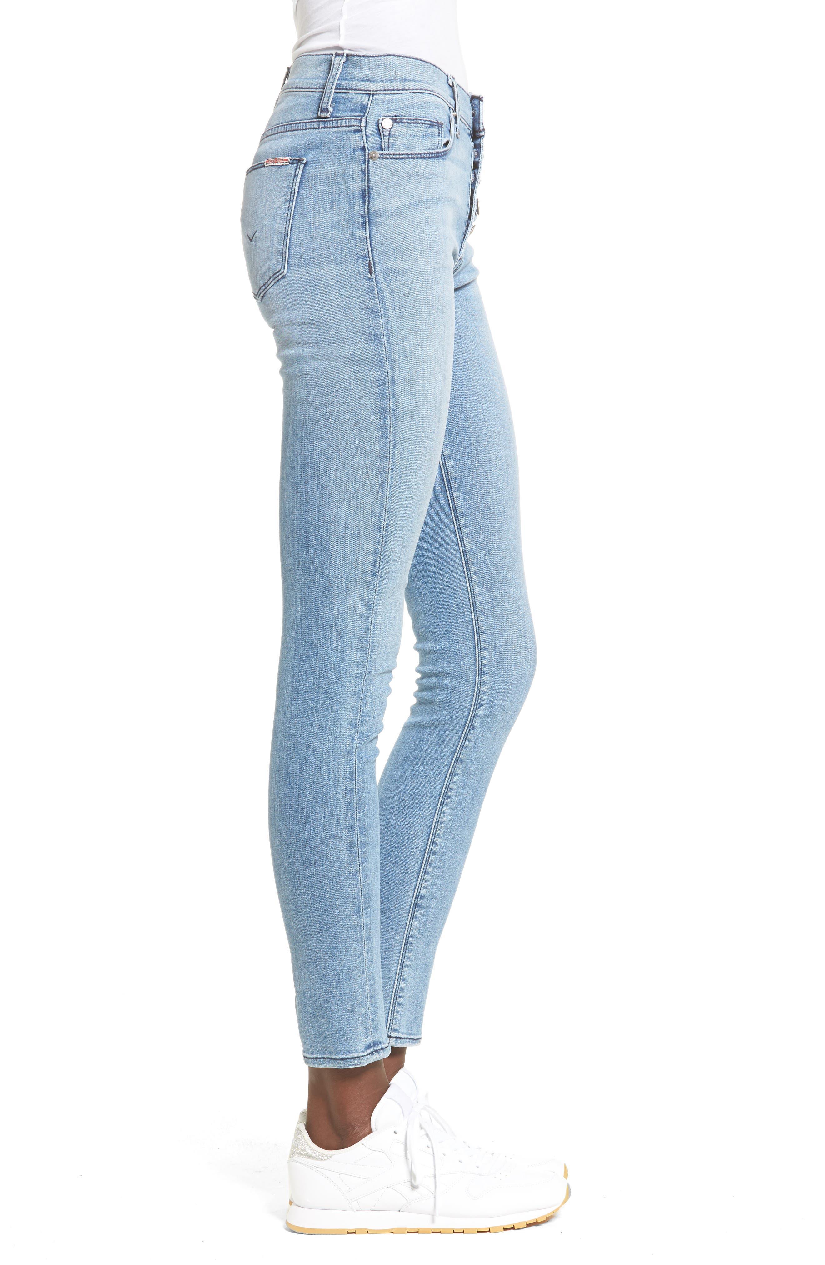 Ciara High Waist Skinny Jeans,                             Alternate thumbnail 6, color,