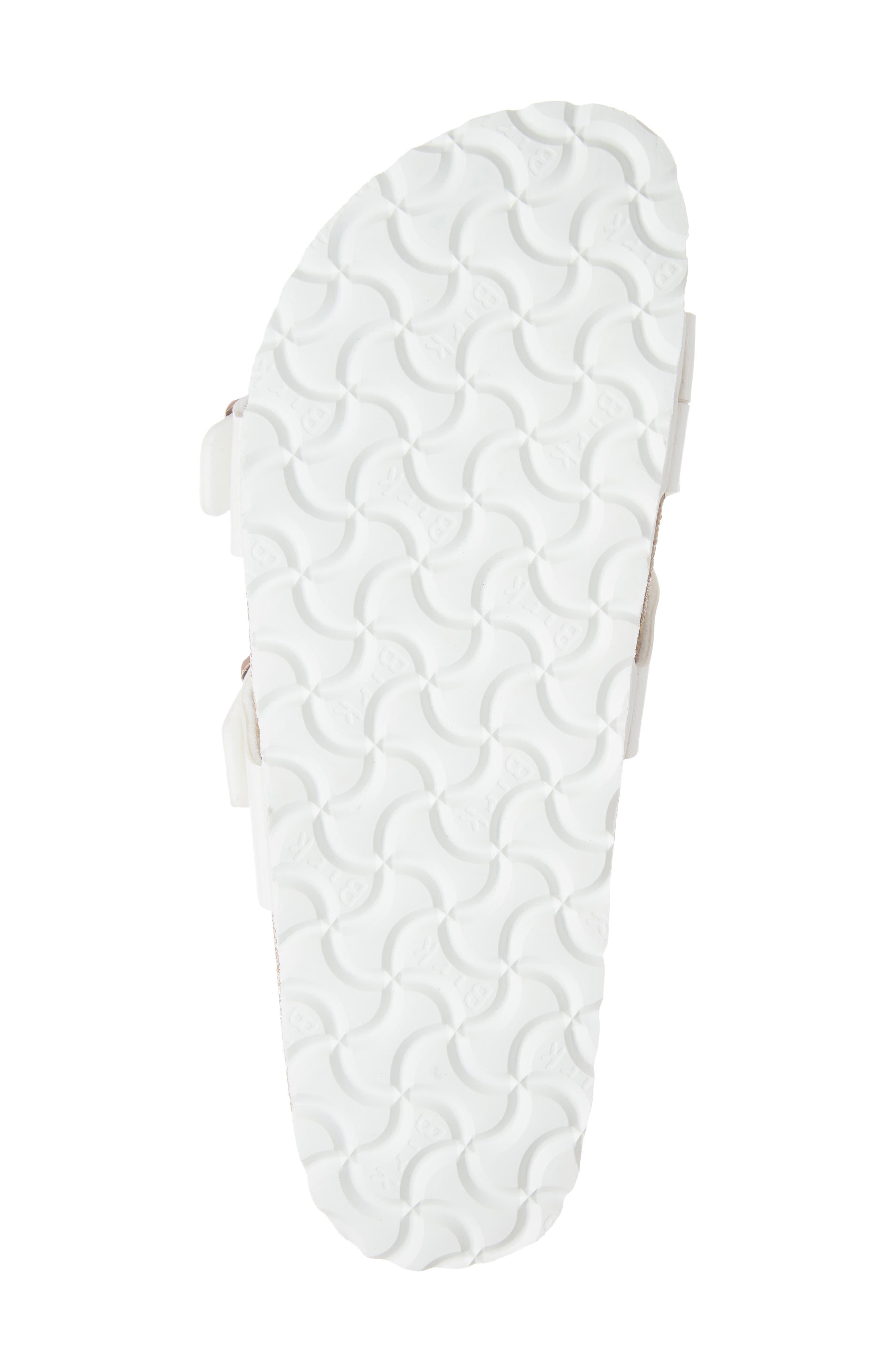 BIRKENSTOCK,                             Yao Slide Sandal,                             Alternate thumbnail 6, color,                             WHITE