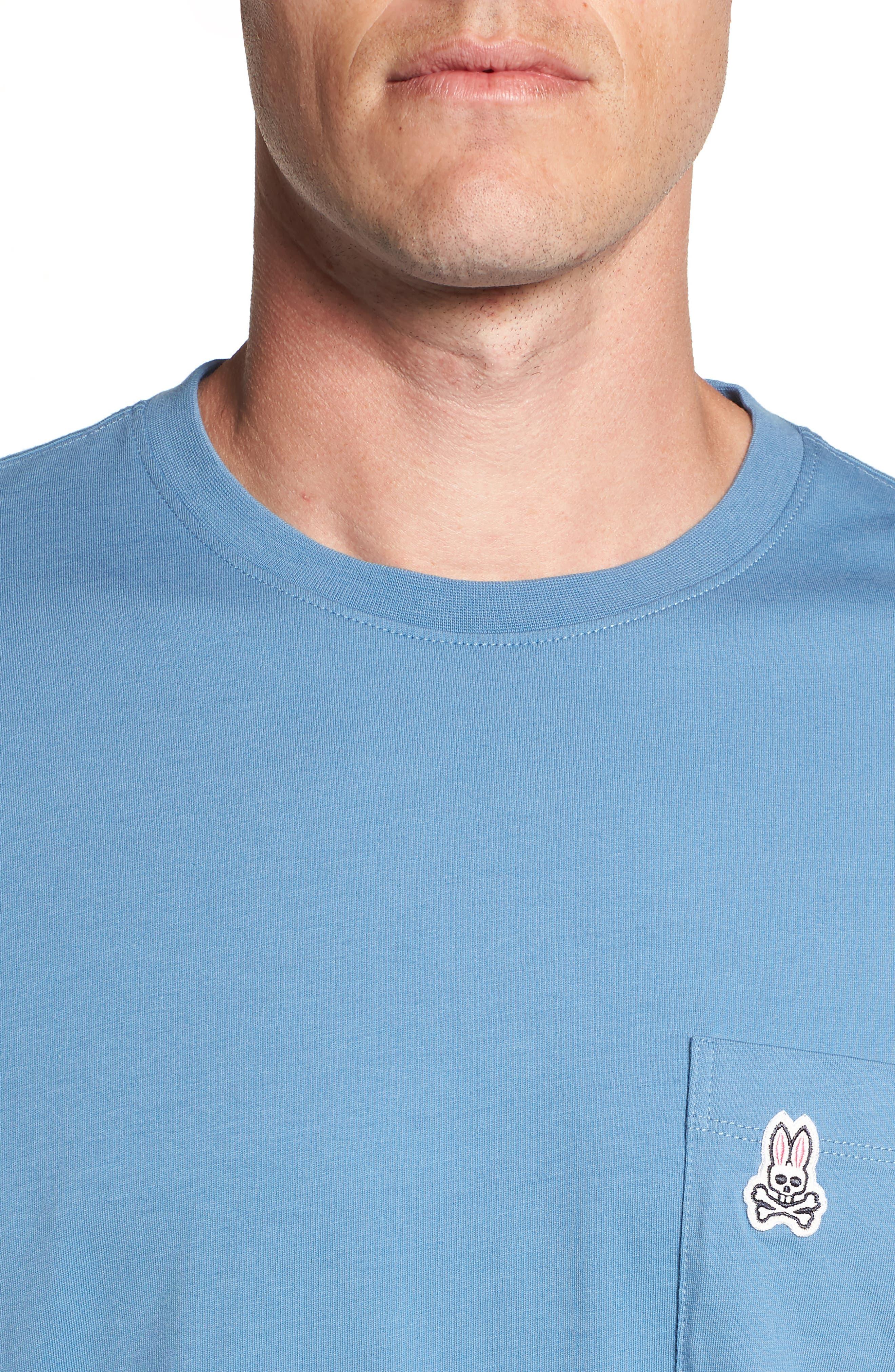 Appliqué Pocket T-Shirt,                             Alternate thumbnail 4, color,                             476