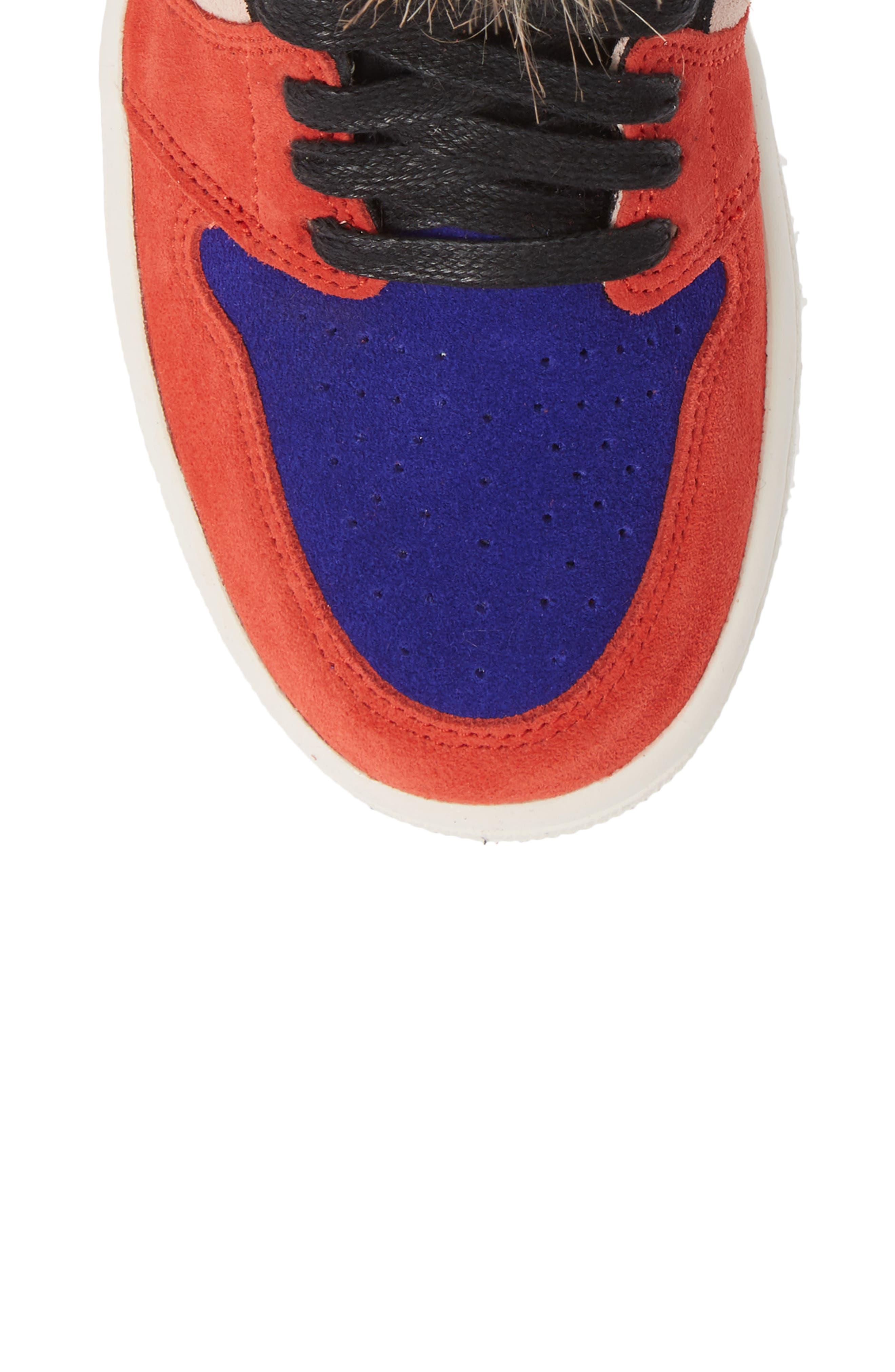 Nike Air Jordan 1 High OG Sneaker,                             Alternate thumbnail 5, color,                             600