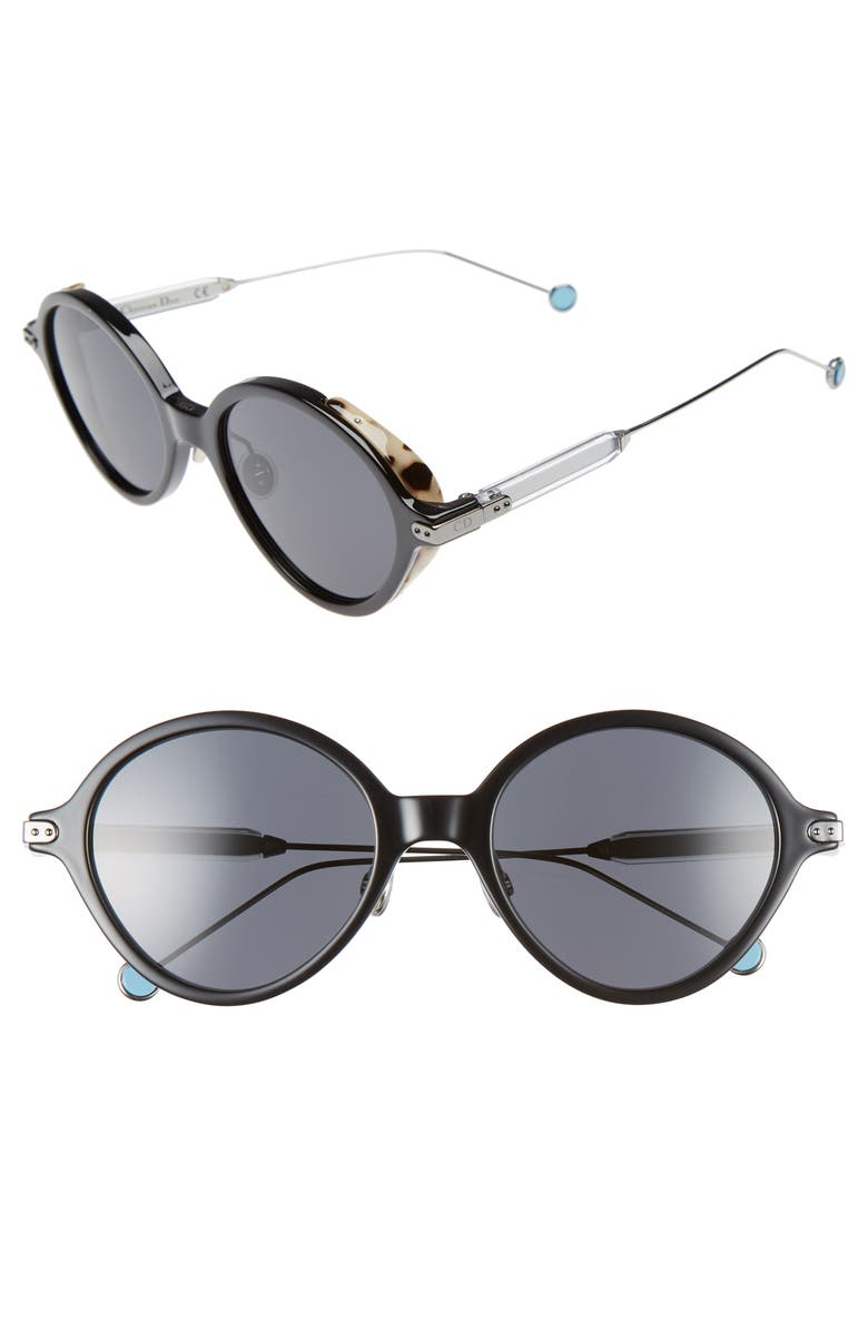 e3435a3c9dd Dior Umbrage 52mm Round Sunglasses
