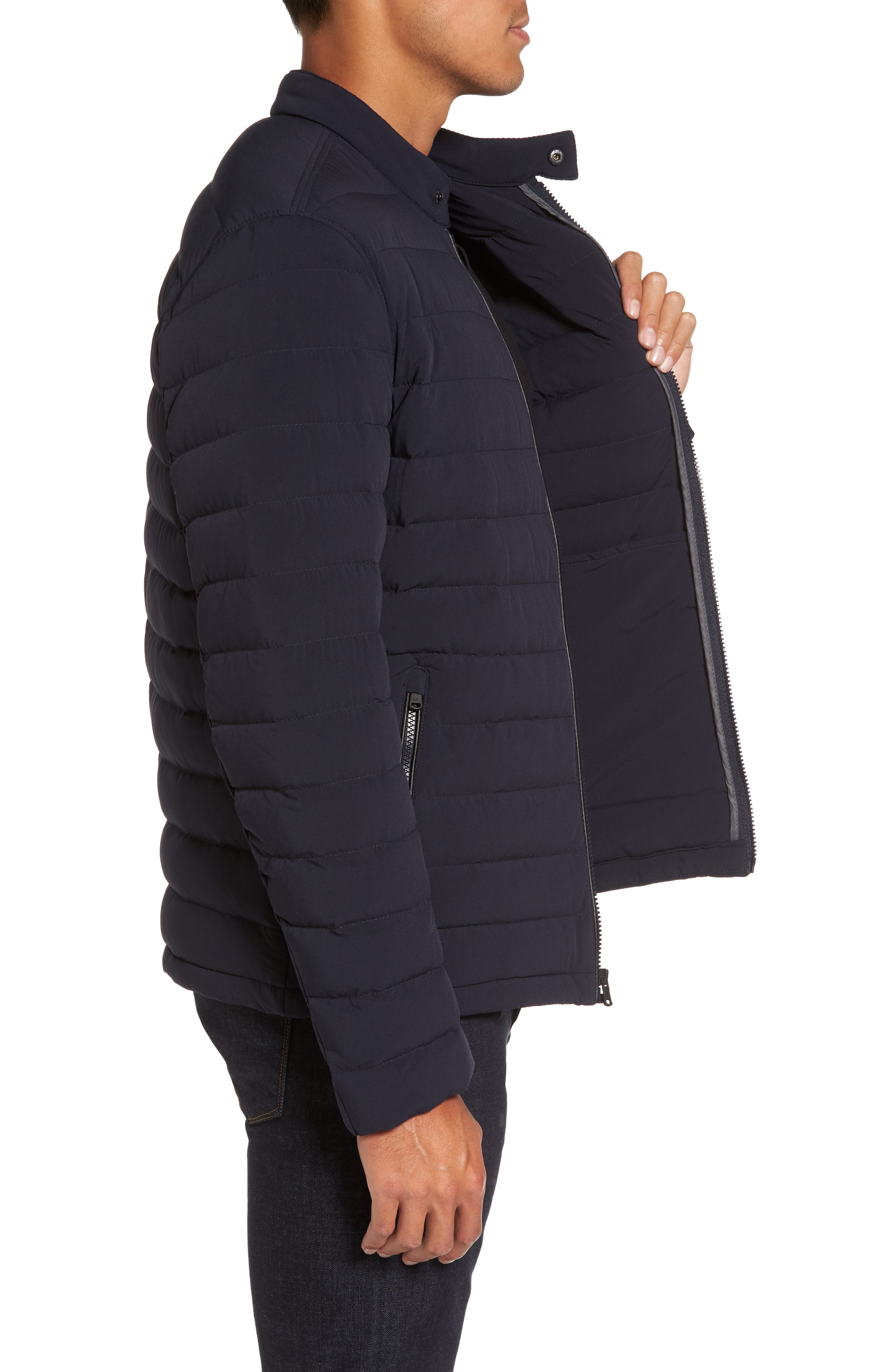 Packable Stretch Down Jacket,                             Alternate thumbnail 13, color,