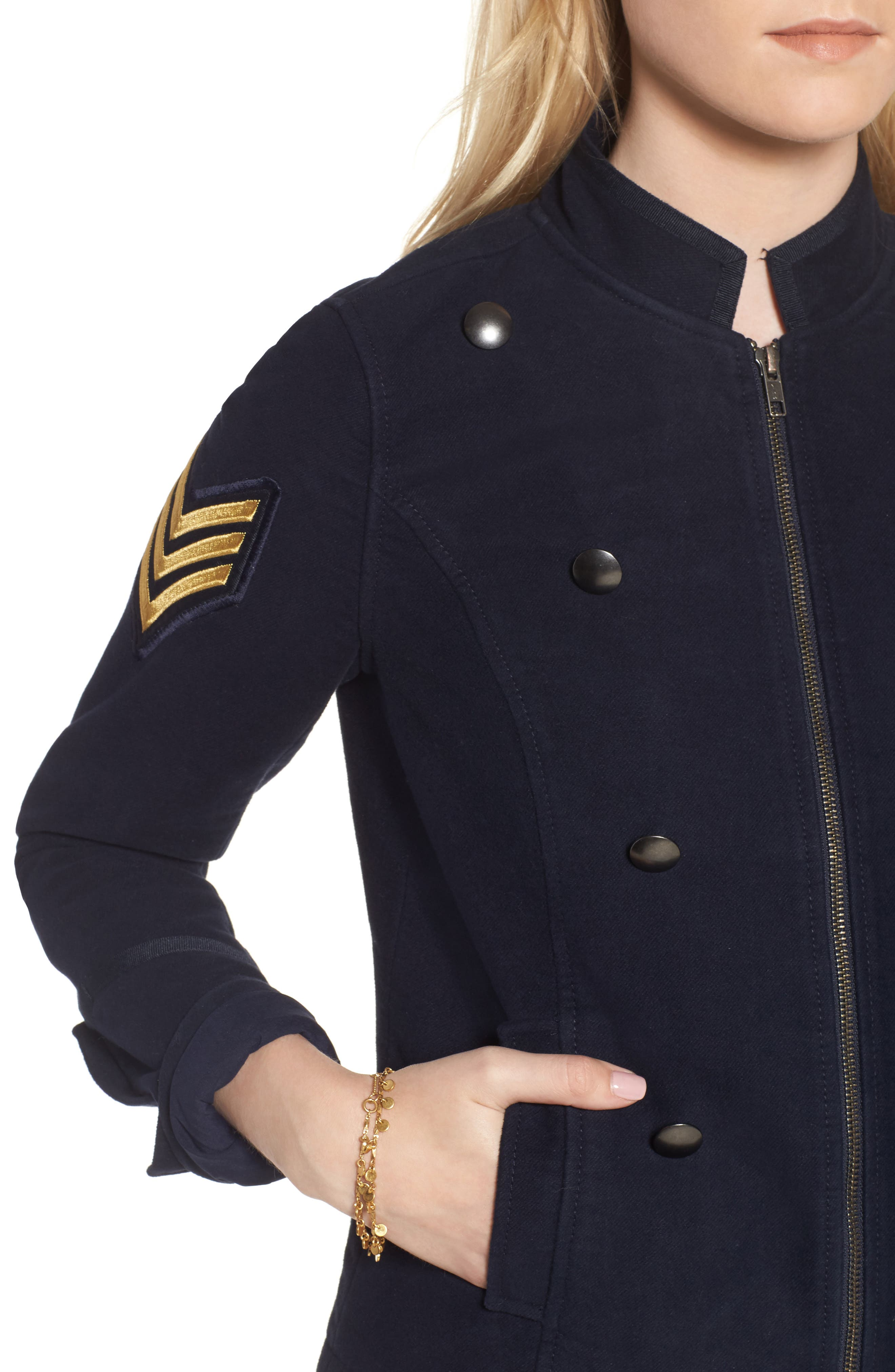 Officers Jacket,                             Alternate thumbnail 4, color,