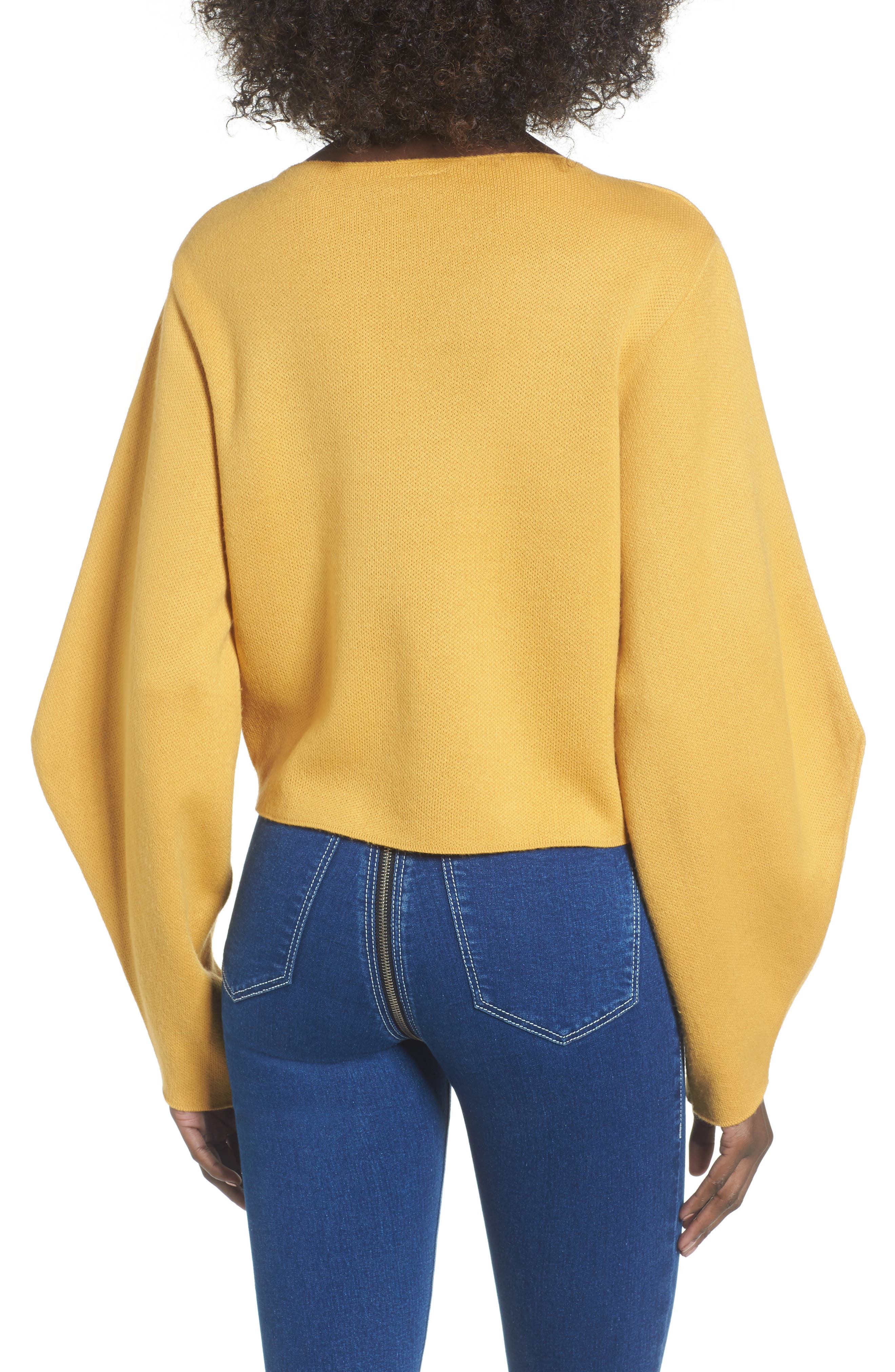 Balloon Sleeve Sweater,                             Alternate thumbnail 2, color,                             700