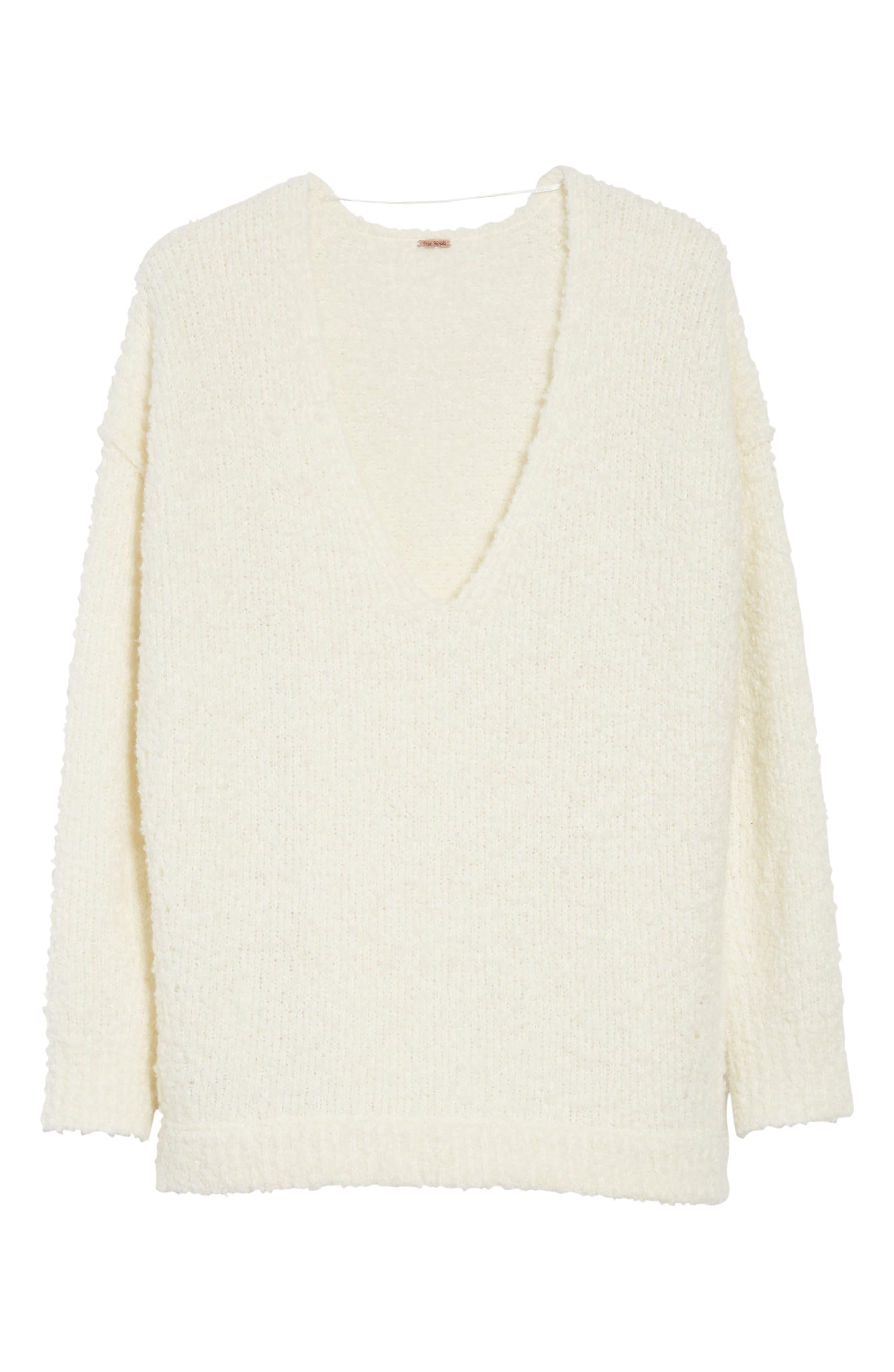 Lofty V-Neck Sweater,                             Alternate thumbnail 40, color,
