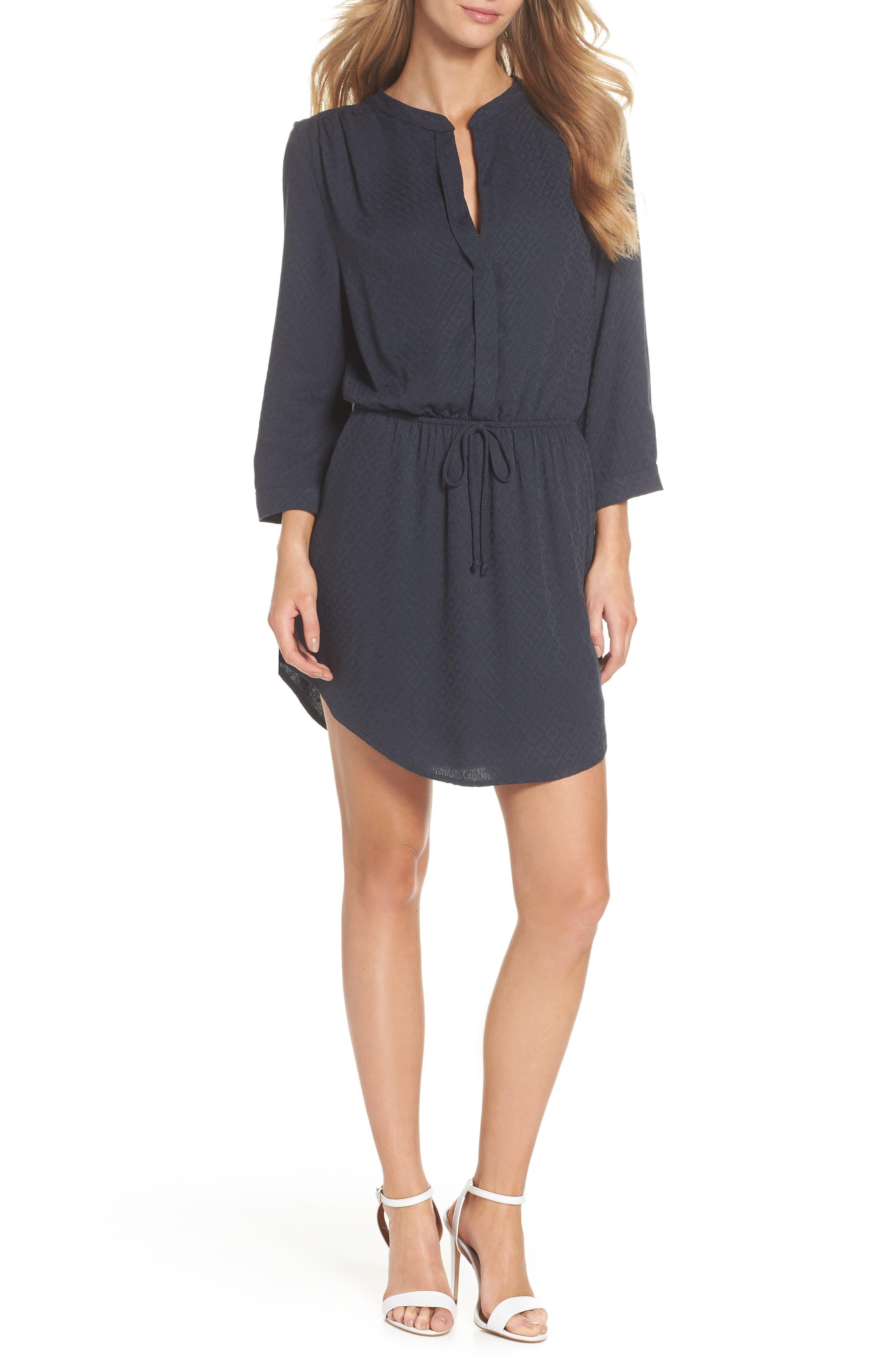Mini Shirtdress,                         Main,                         color, 419