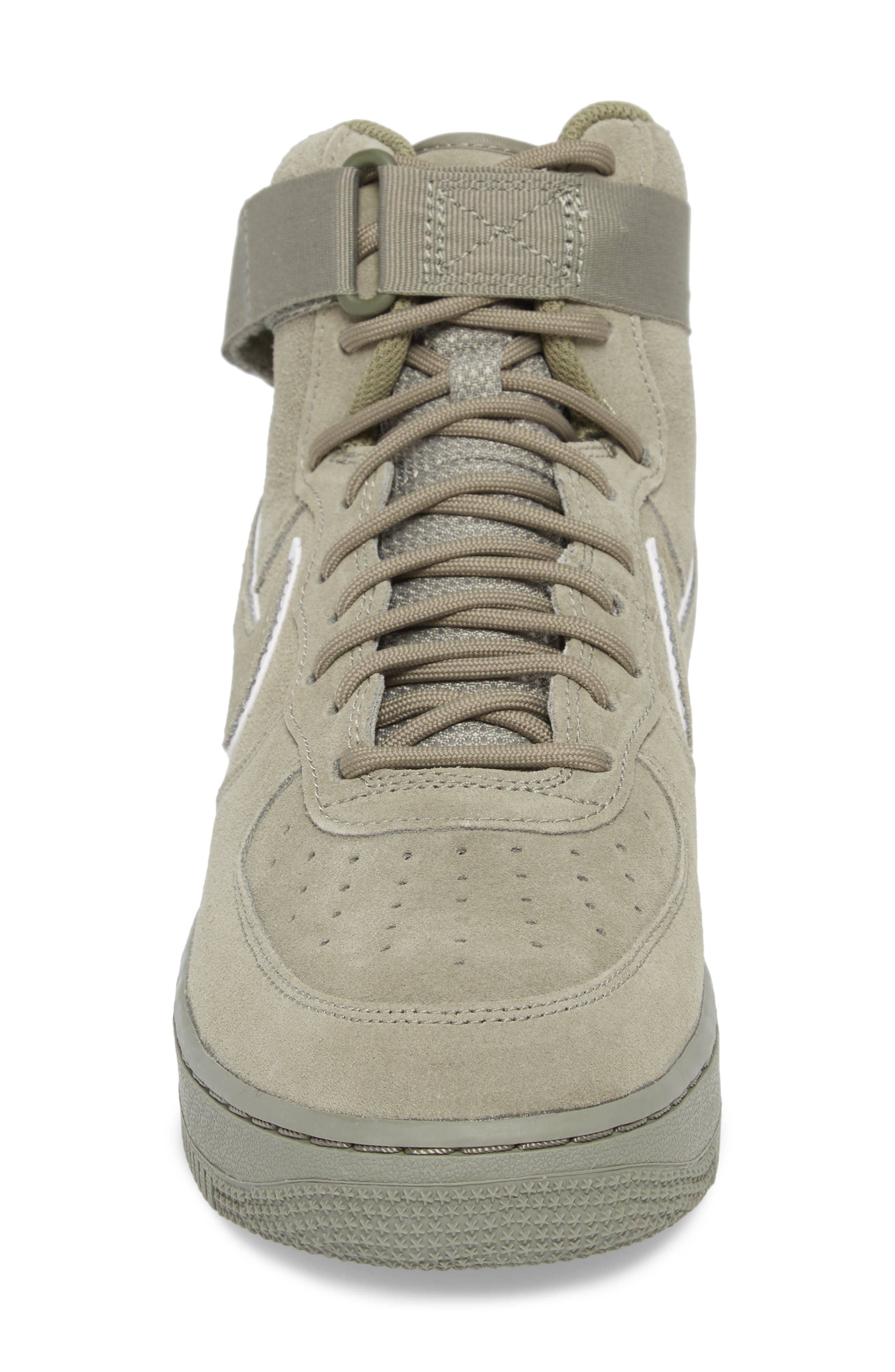 Air Force 1 High '07 LV8 Suede Sneaker,                             Alternate thumbnail 8, color,