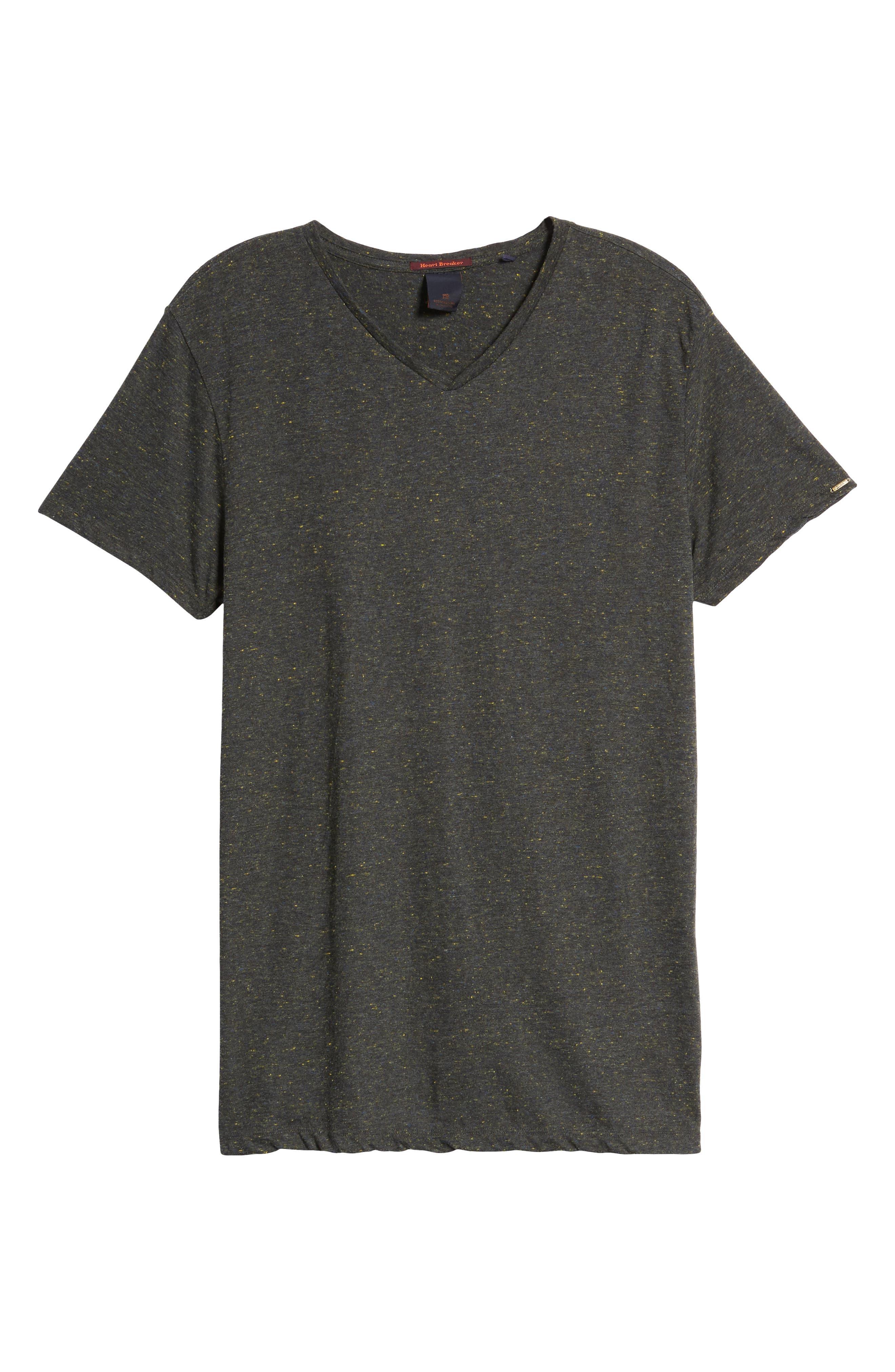 Mélange Jersey T-Shirt,                             Alternate thumbnail 6, color,                             030