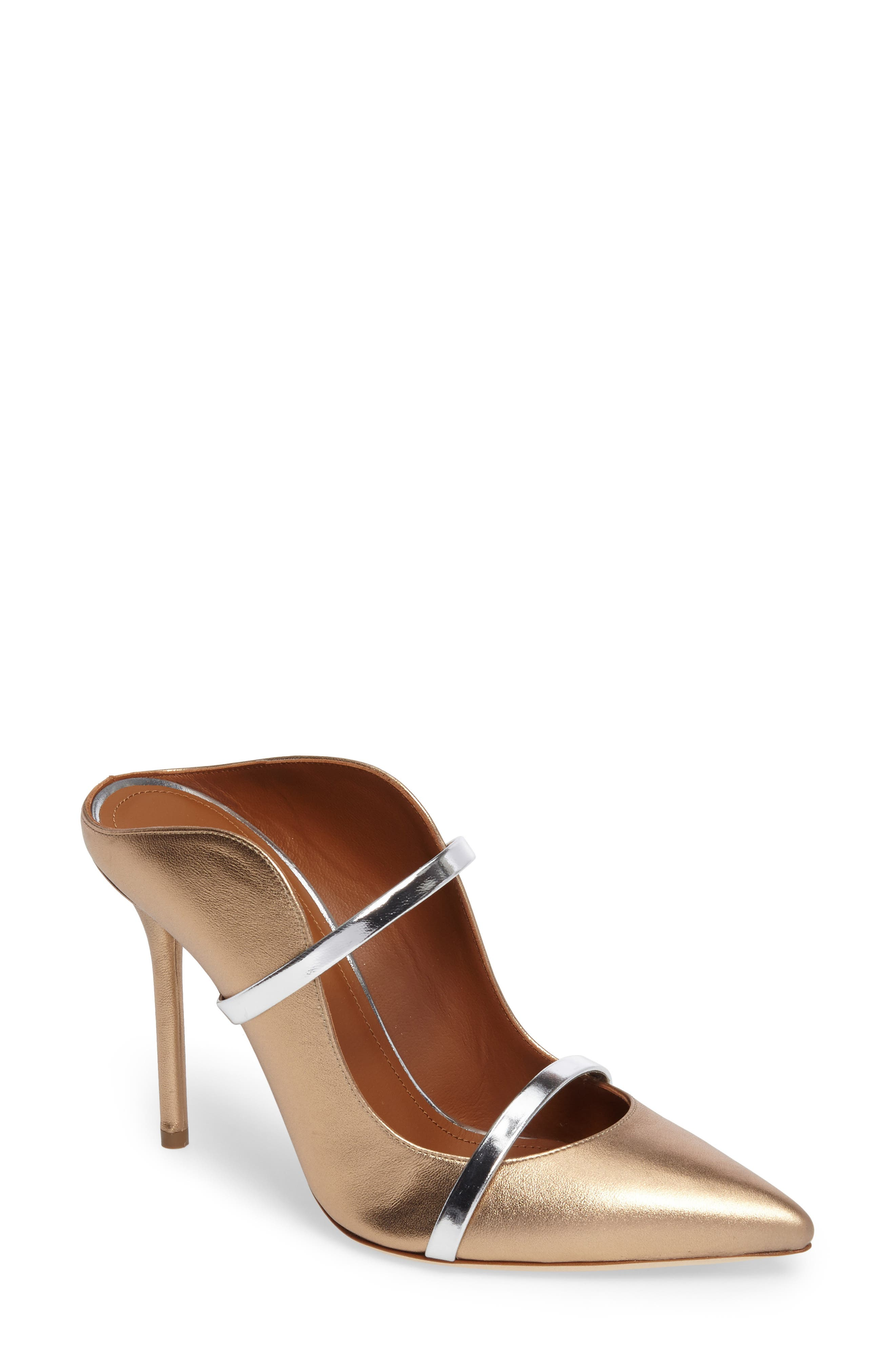 Malone Souliers Maureen Double Band Mule,                         Main,                         color, 710