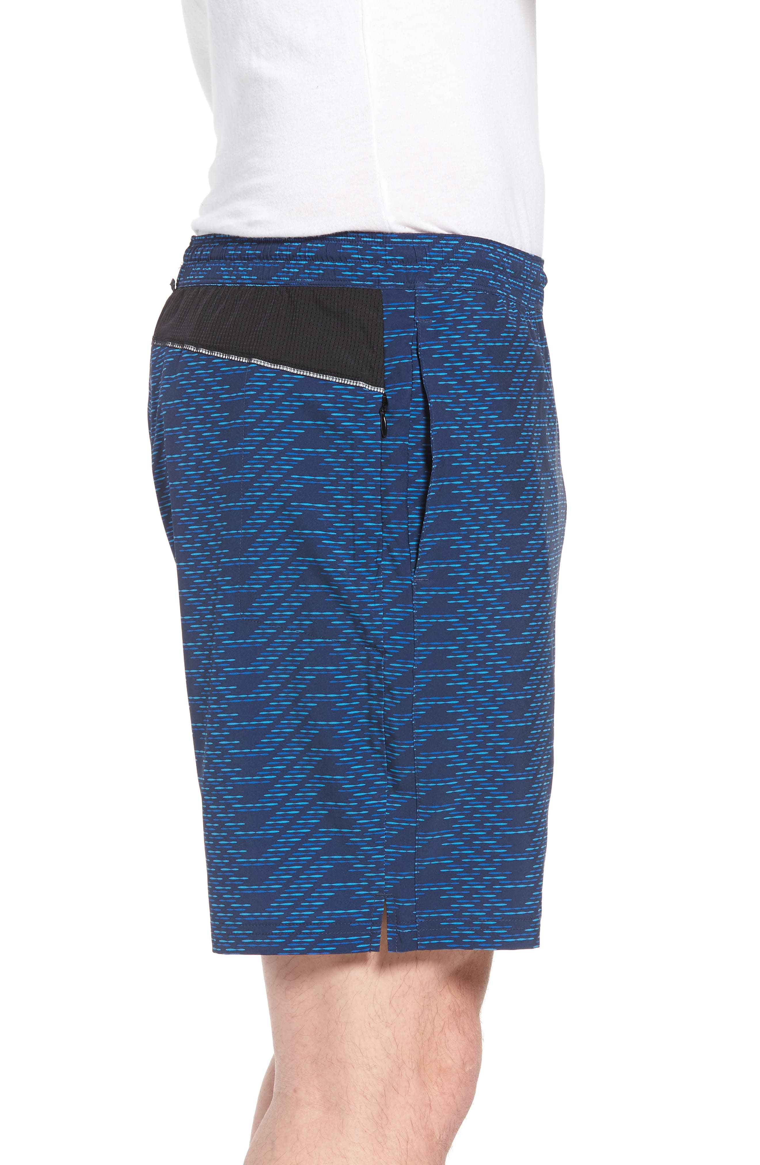Stretch Shorts,                             Alternate thumbnail 3, color,                             CIRCUIT BREAKER