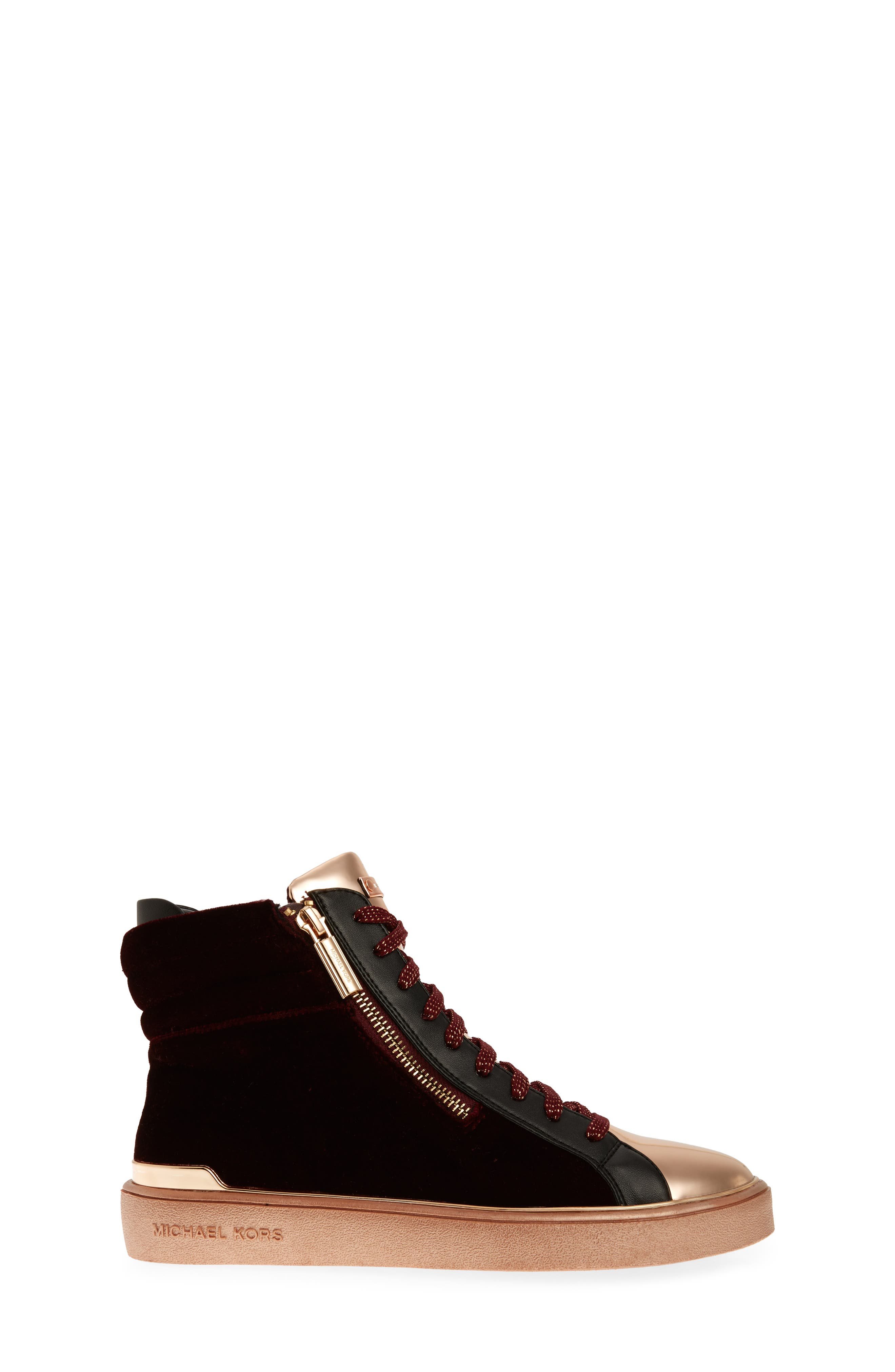 Ivy Blue High Top Sneaker,                             Alternate thumbnail 6, color,