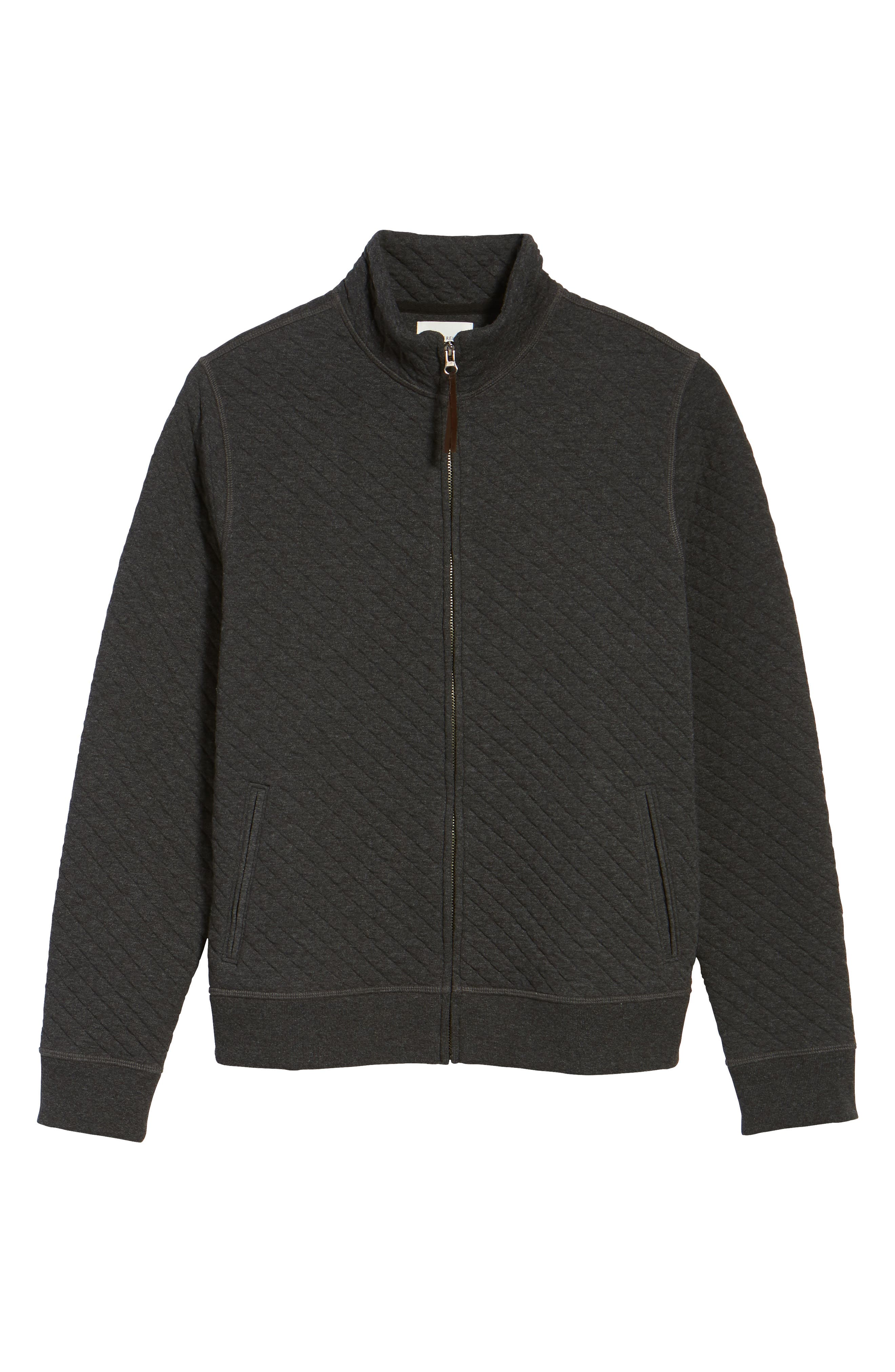 Diamond Quilted Jacket,                             Alternate thumbnail 6, color,                             020