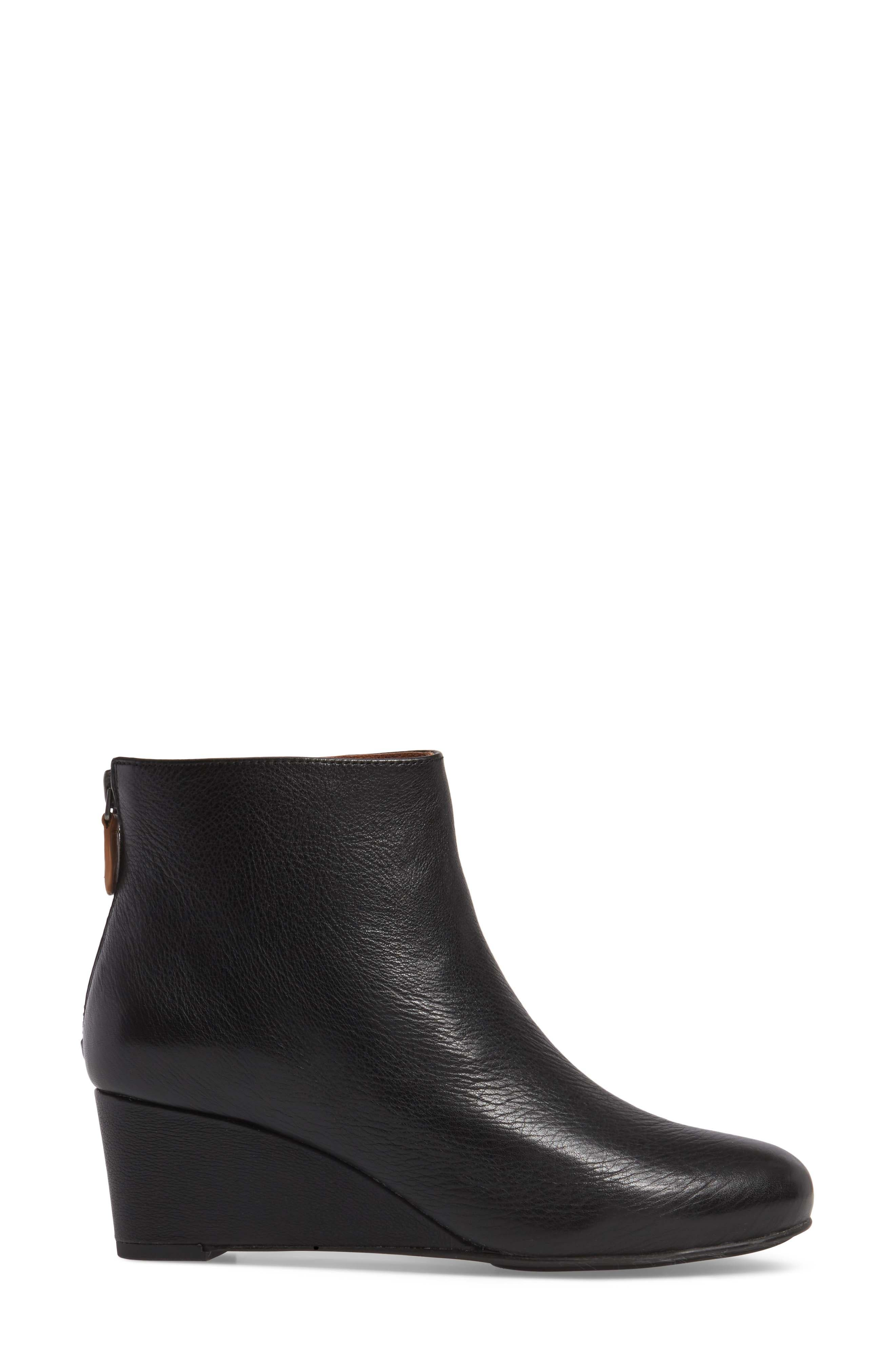 by Kenneth Cole Vicki Wedge Bootie,                             Alternate thumbnail 3, color,                             001