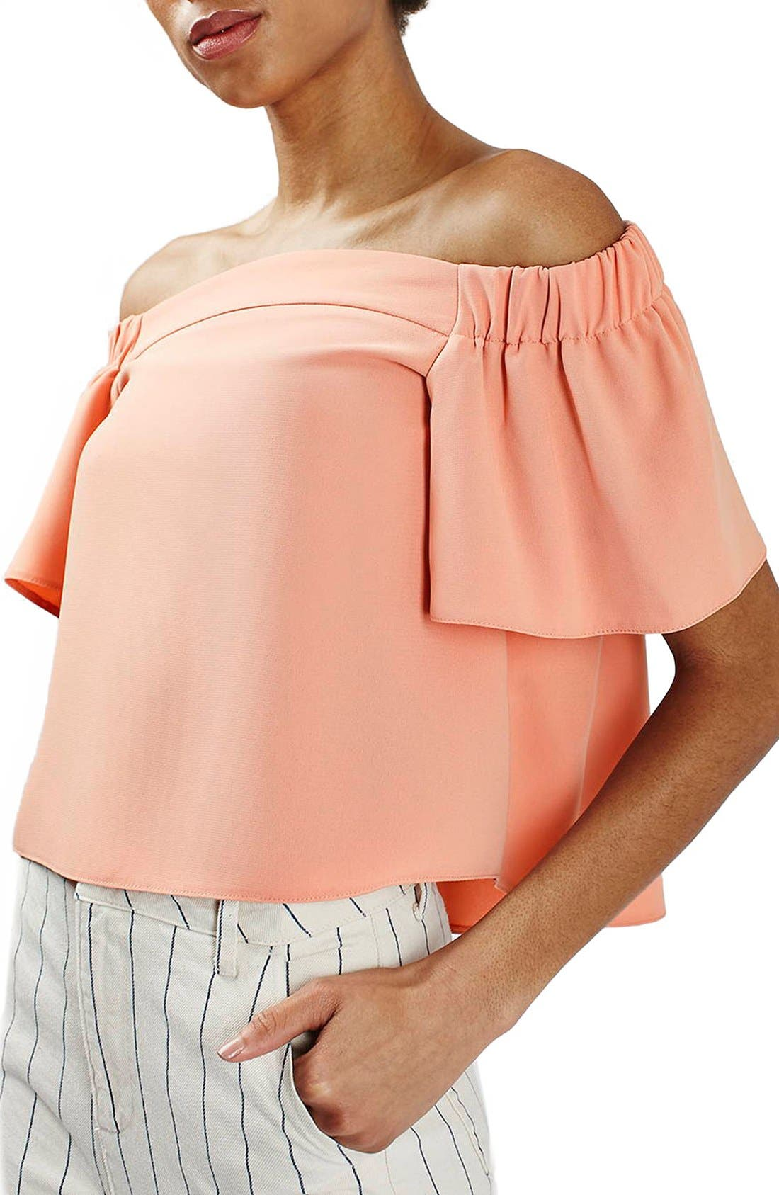 'Livi' Off the Shoulder Top,                             Main thumbnail 5, color,