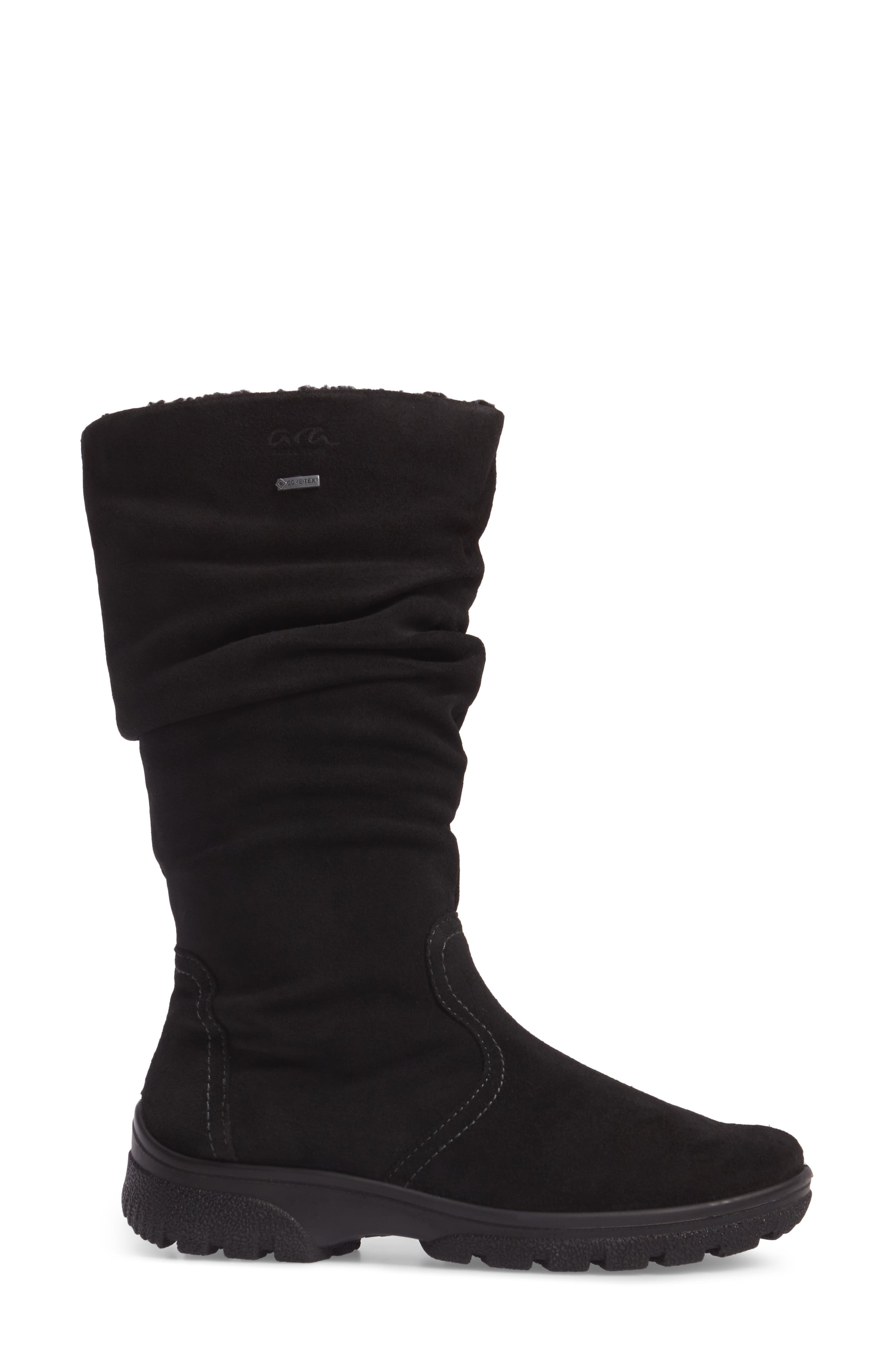 Sydney Waterproof Gore-Tex<sup>®</sup> Boot,                             Alternate thumbnail 3, color,                             001