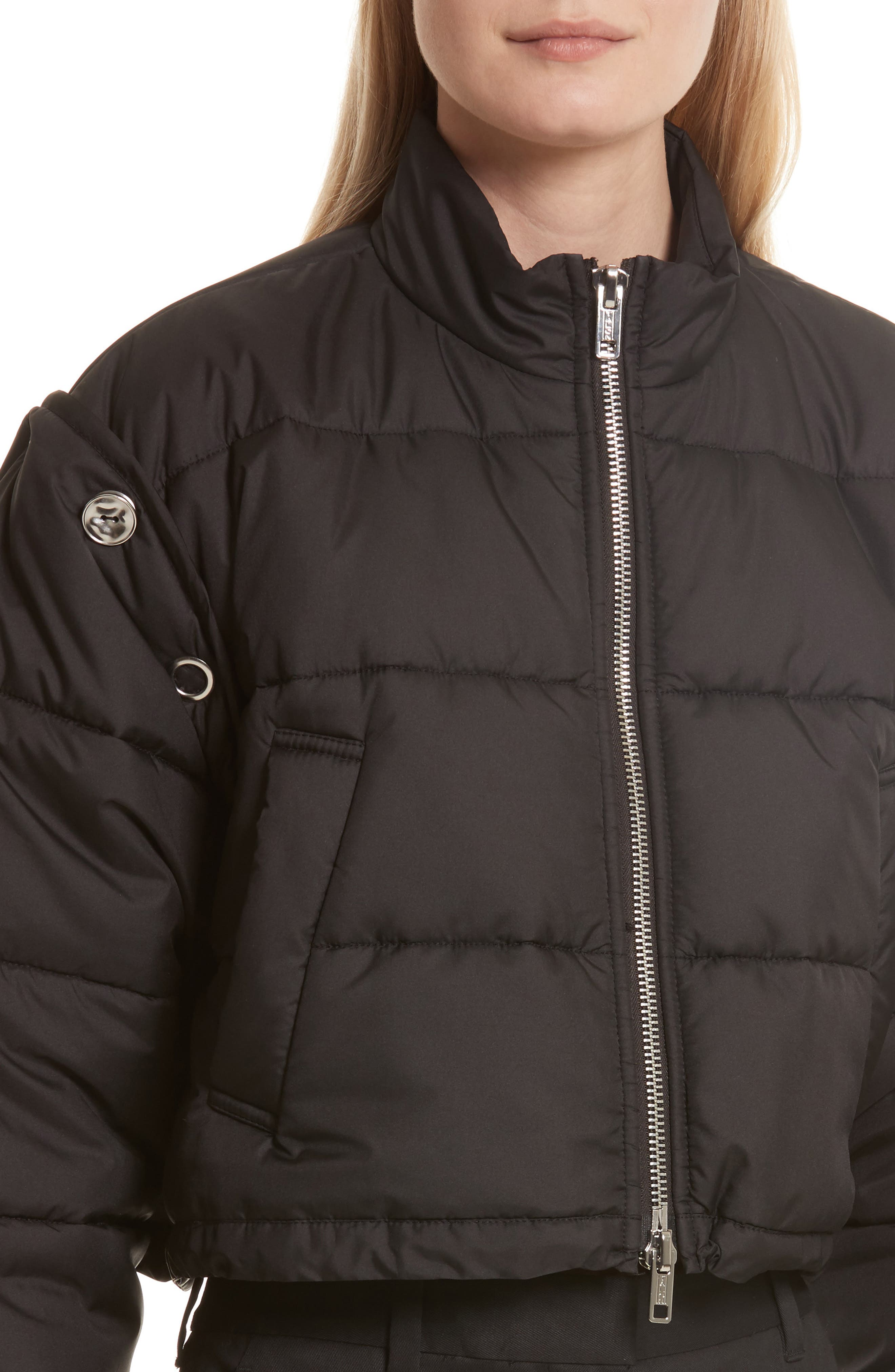 Quilted Bomber,                             Alternate thumbnail 4, color,                             001