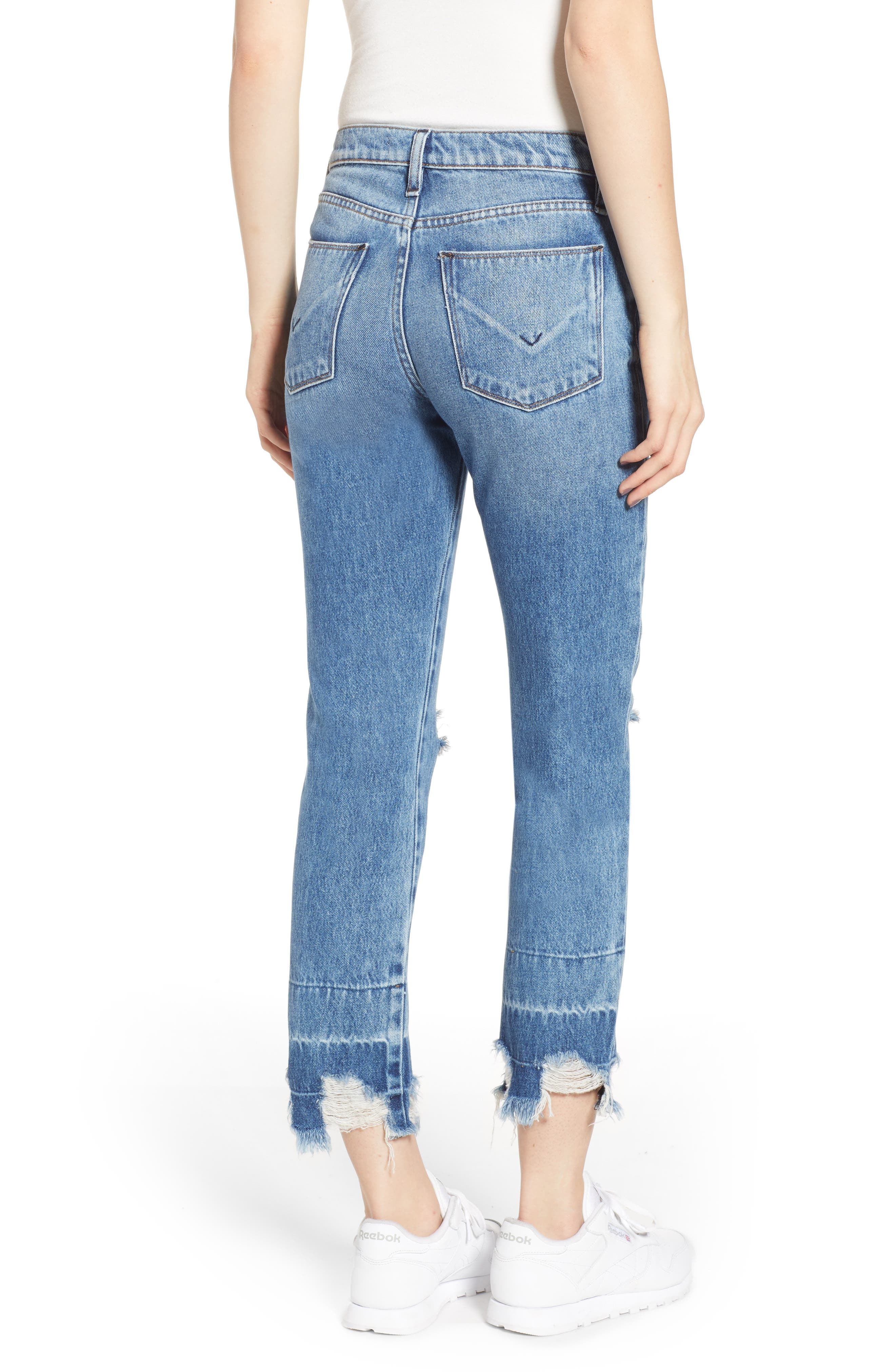 HUDSON JEANS,                             Jessi Ripped Boyfriend Jeans,                             Alternate thumbnail 2, color,                             OVERSHADOW